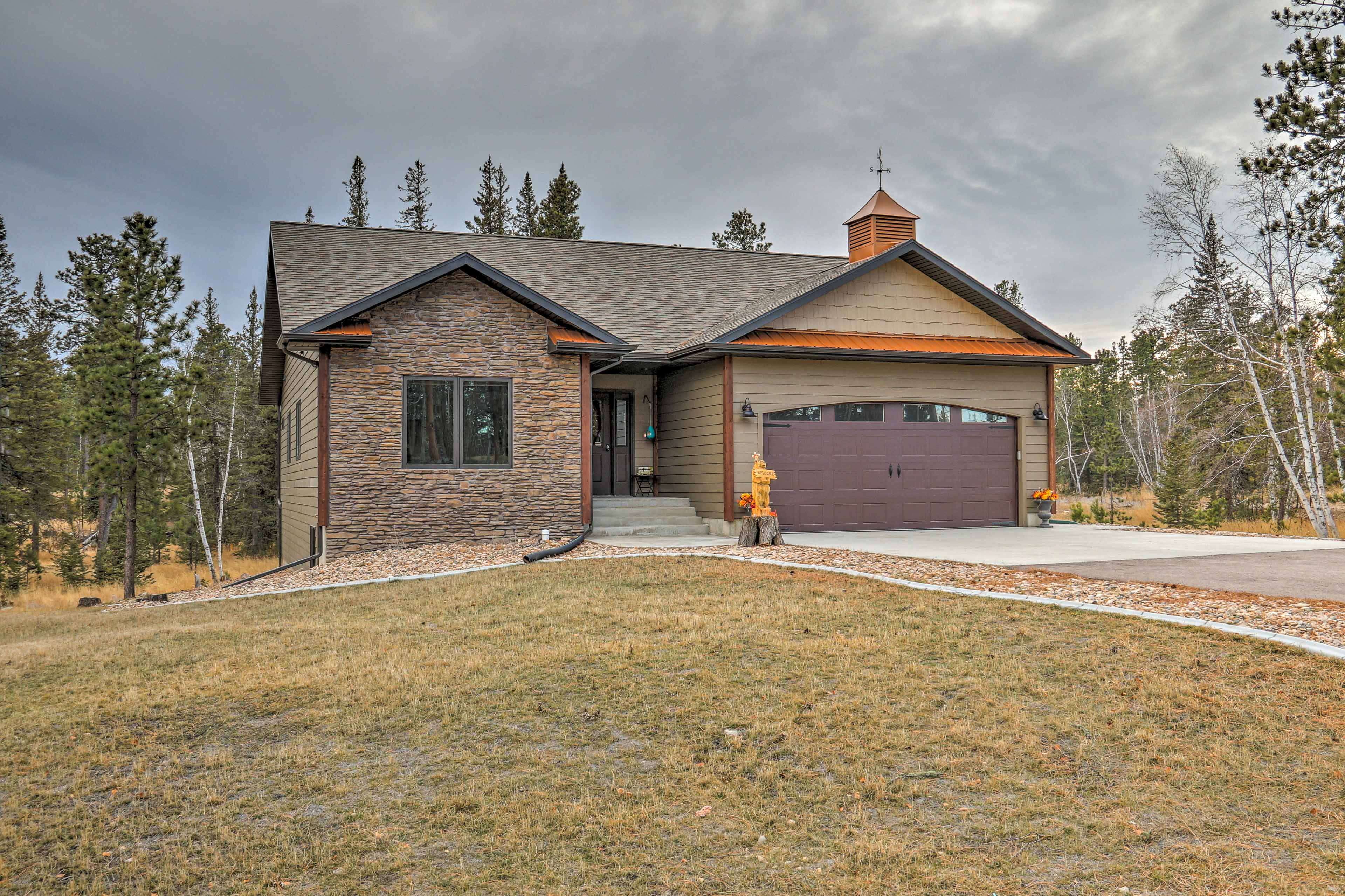 Enjoy the Black Hills from this lovely Lead house that will soon feel like home.