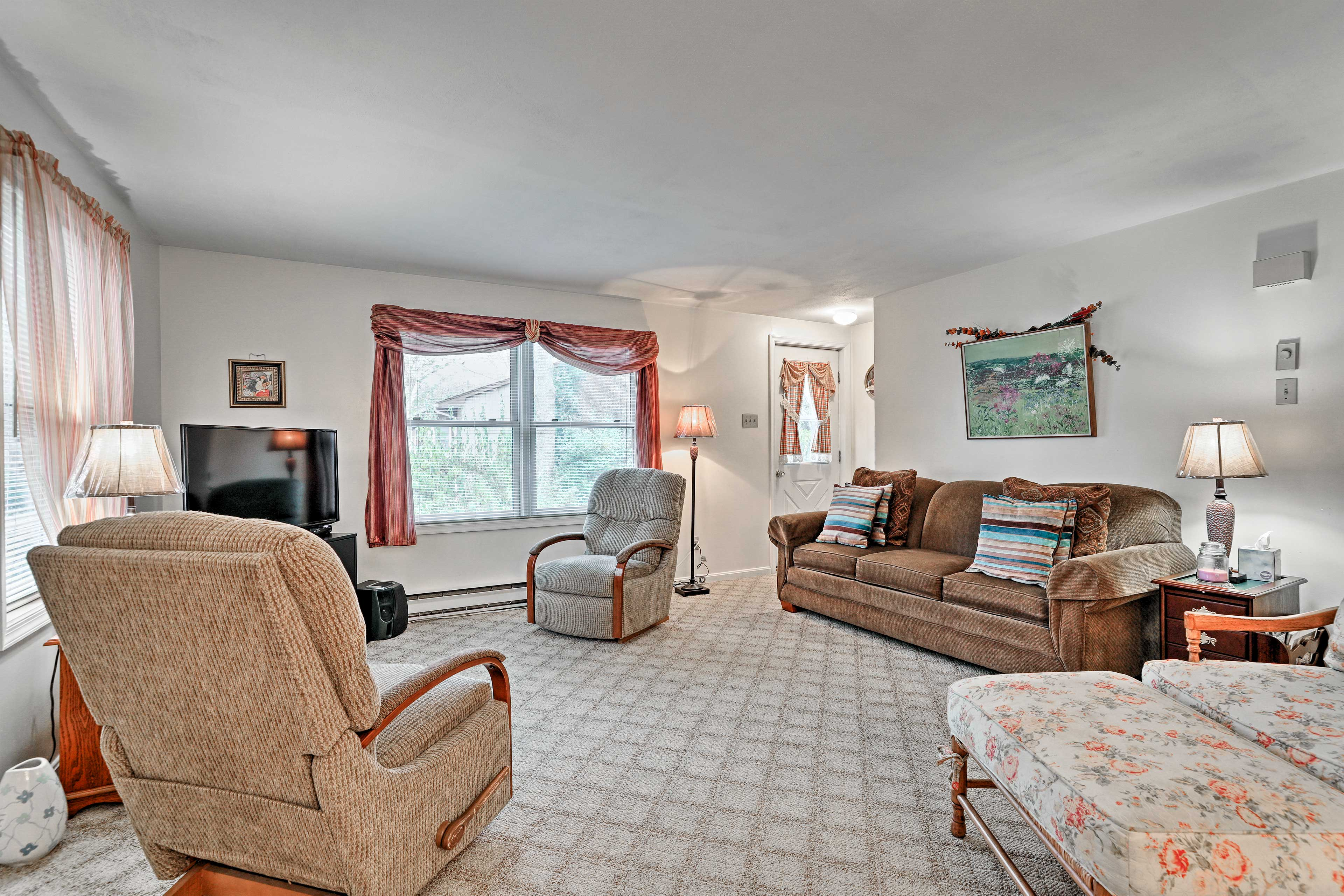 You'll find this cozy home nestled in a beautiful historic district.