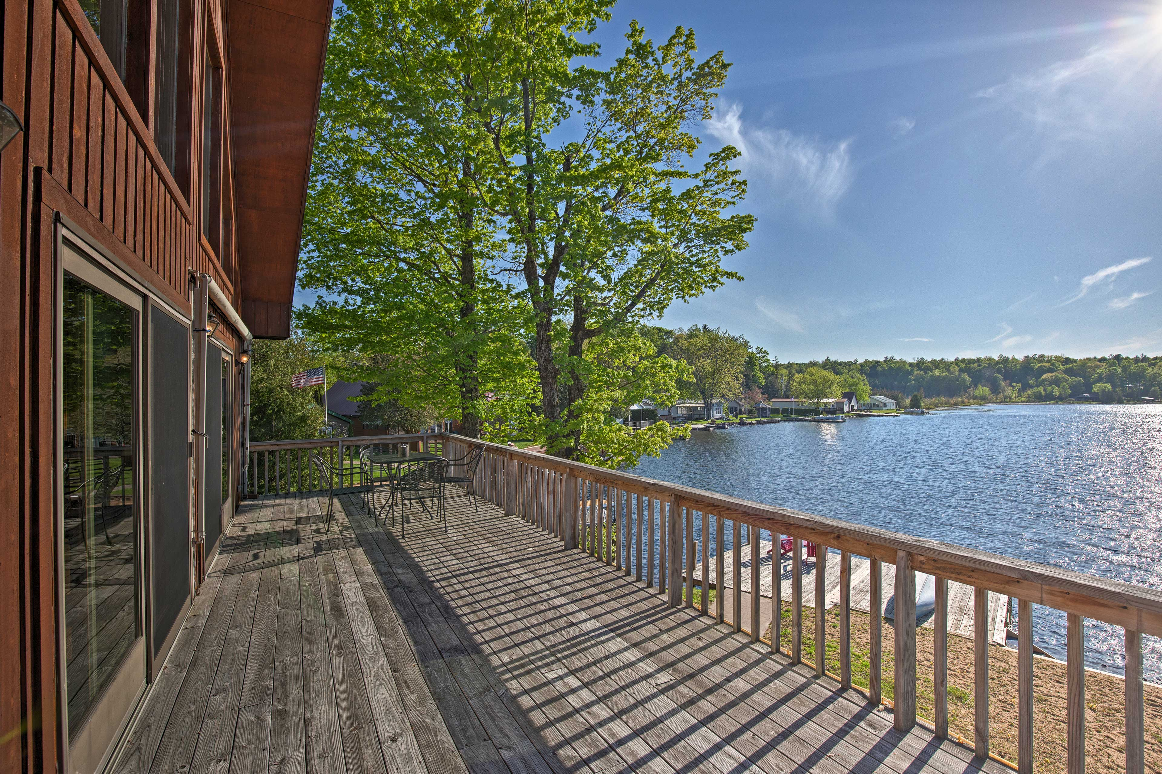 Reconnect with loved ones at this Harrisville vacation rental house!