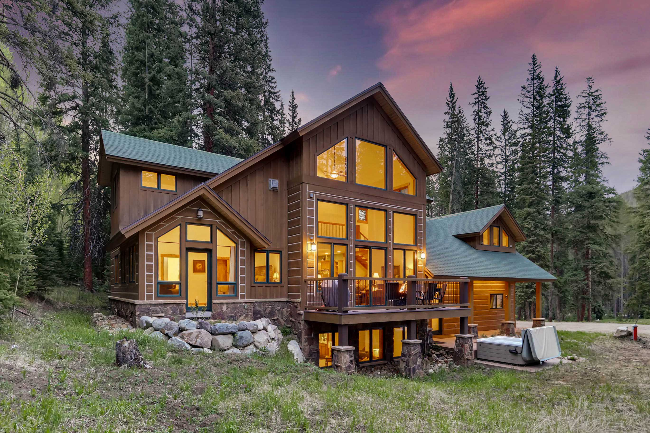 Escape to this Breckenridge vacation rental home for a Rocky Mountain retreat!
