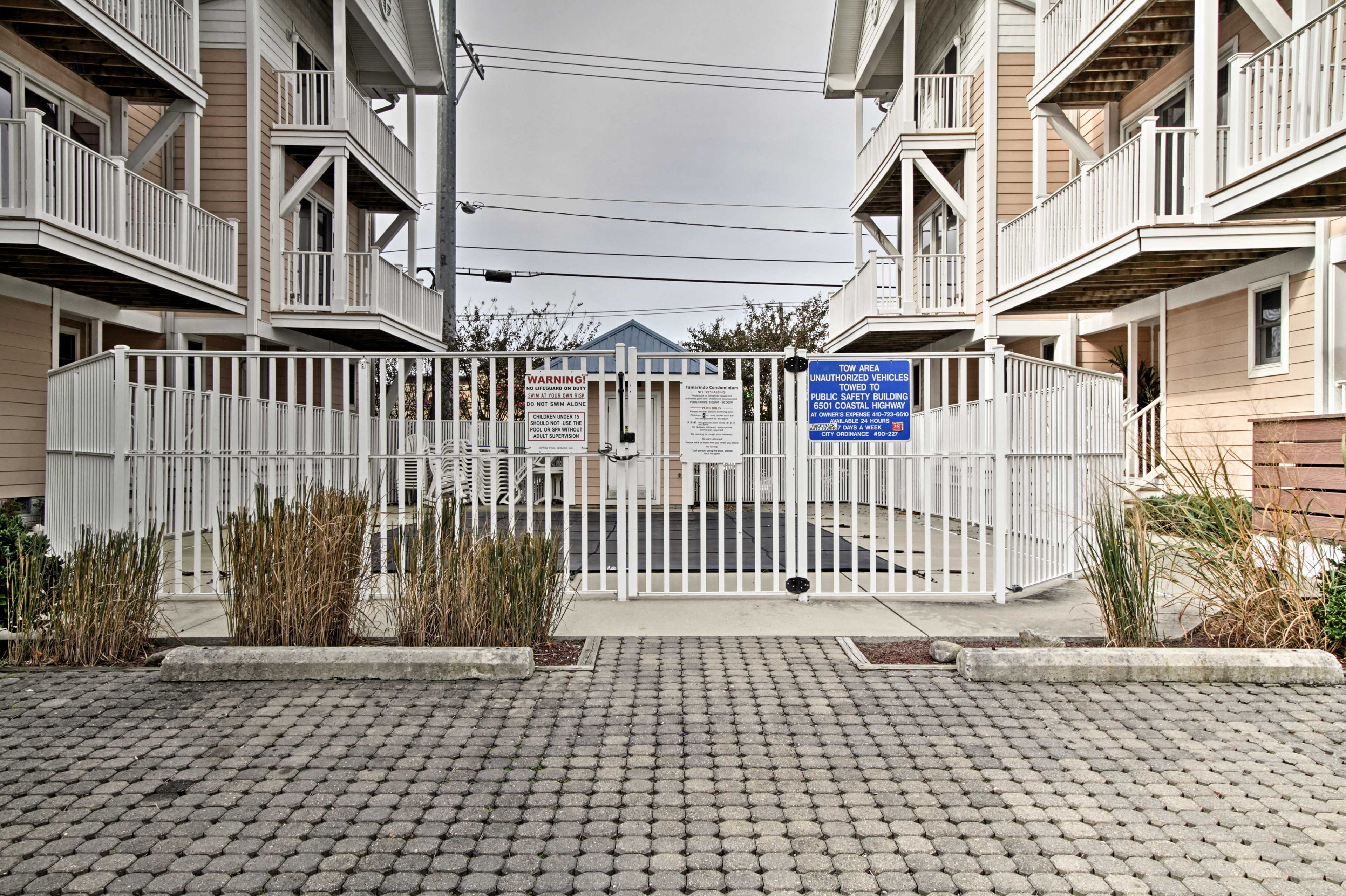There's no better place to call your seaside home-away-from-home!