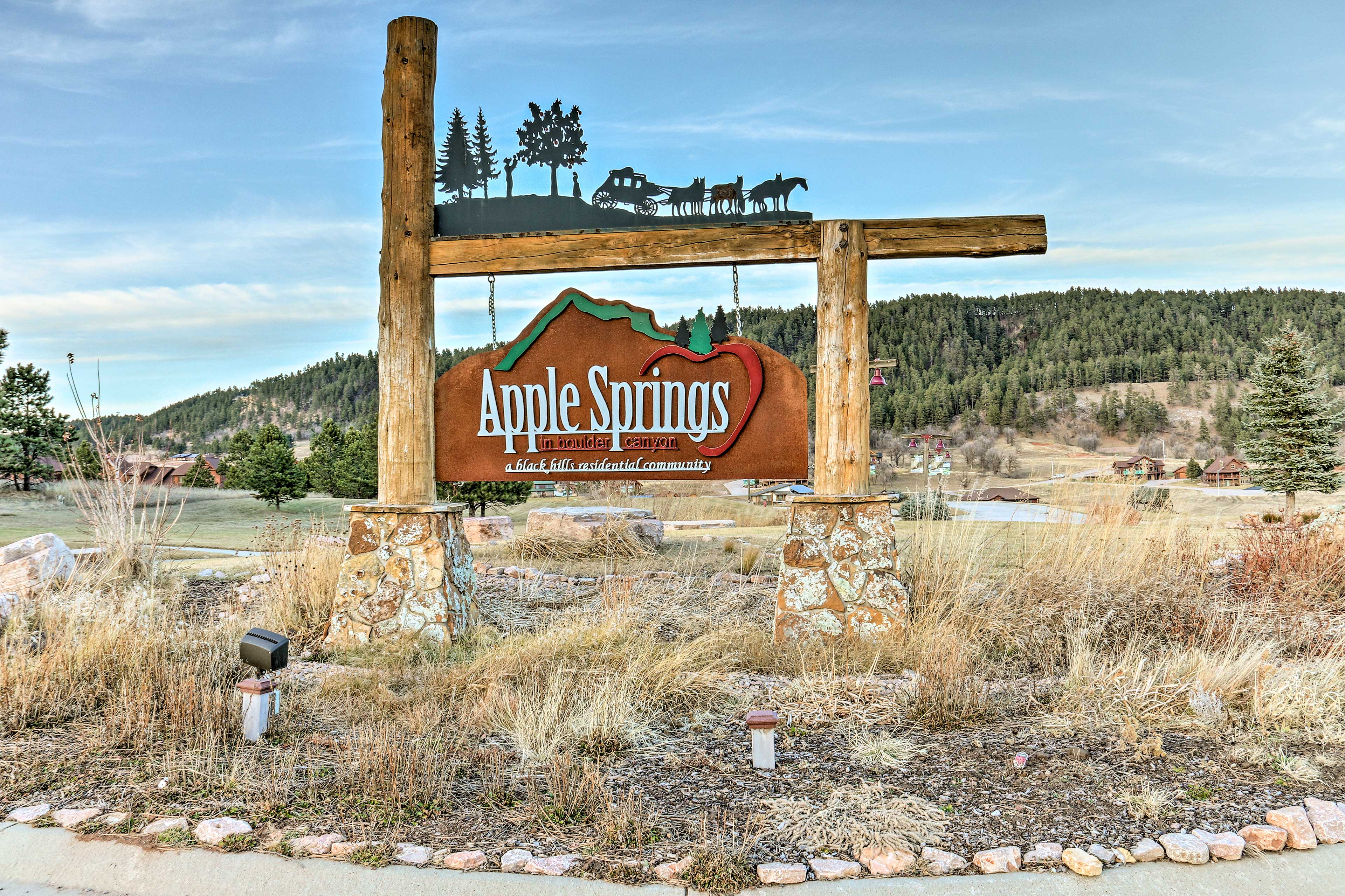 Apple Springs invites you to explore the Black Hills area!