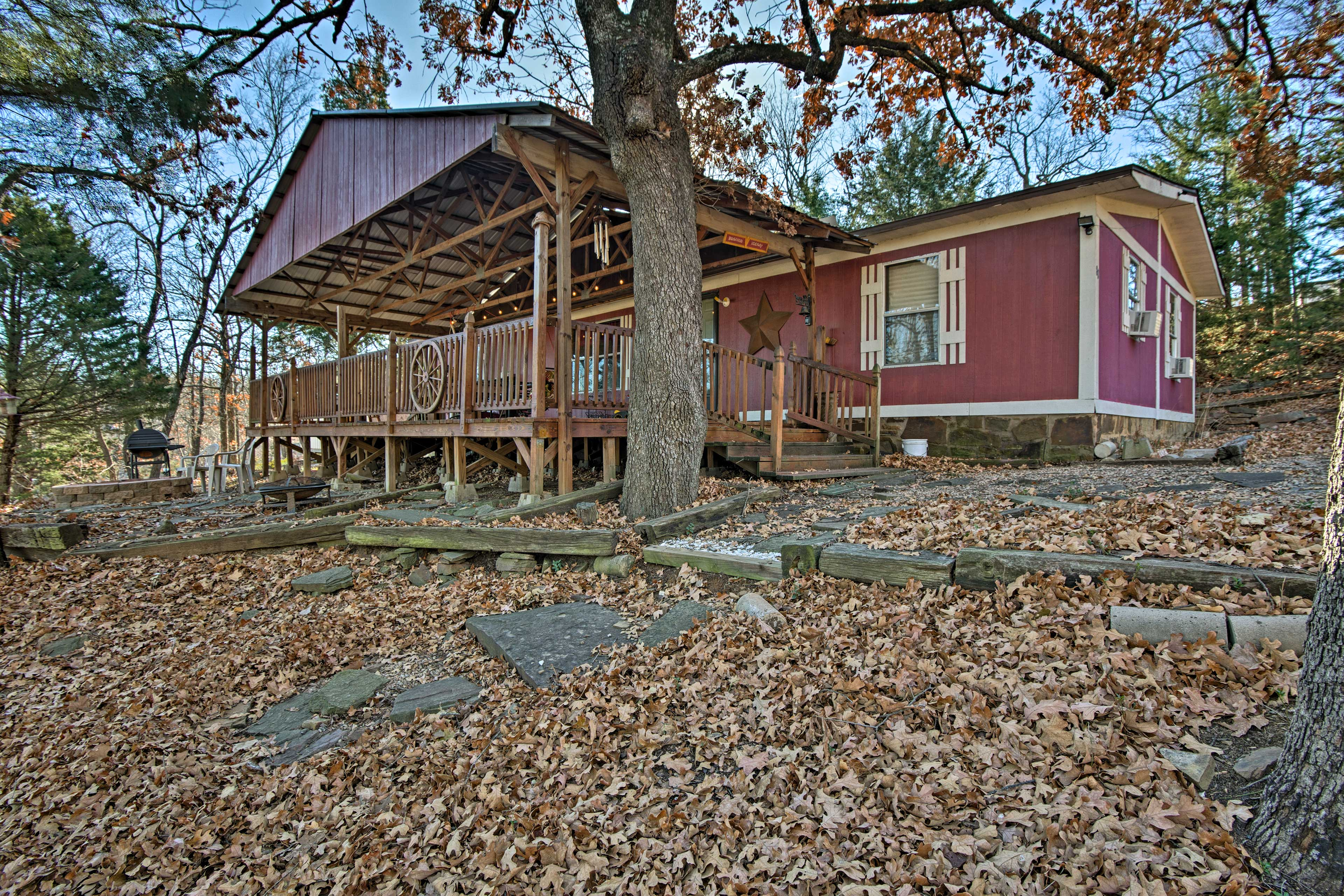 This 3-bedroom, 2-bath home comfortably sleeps up to 10 guests!