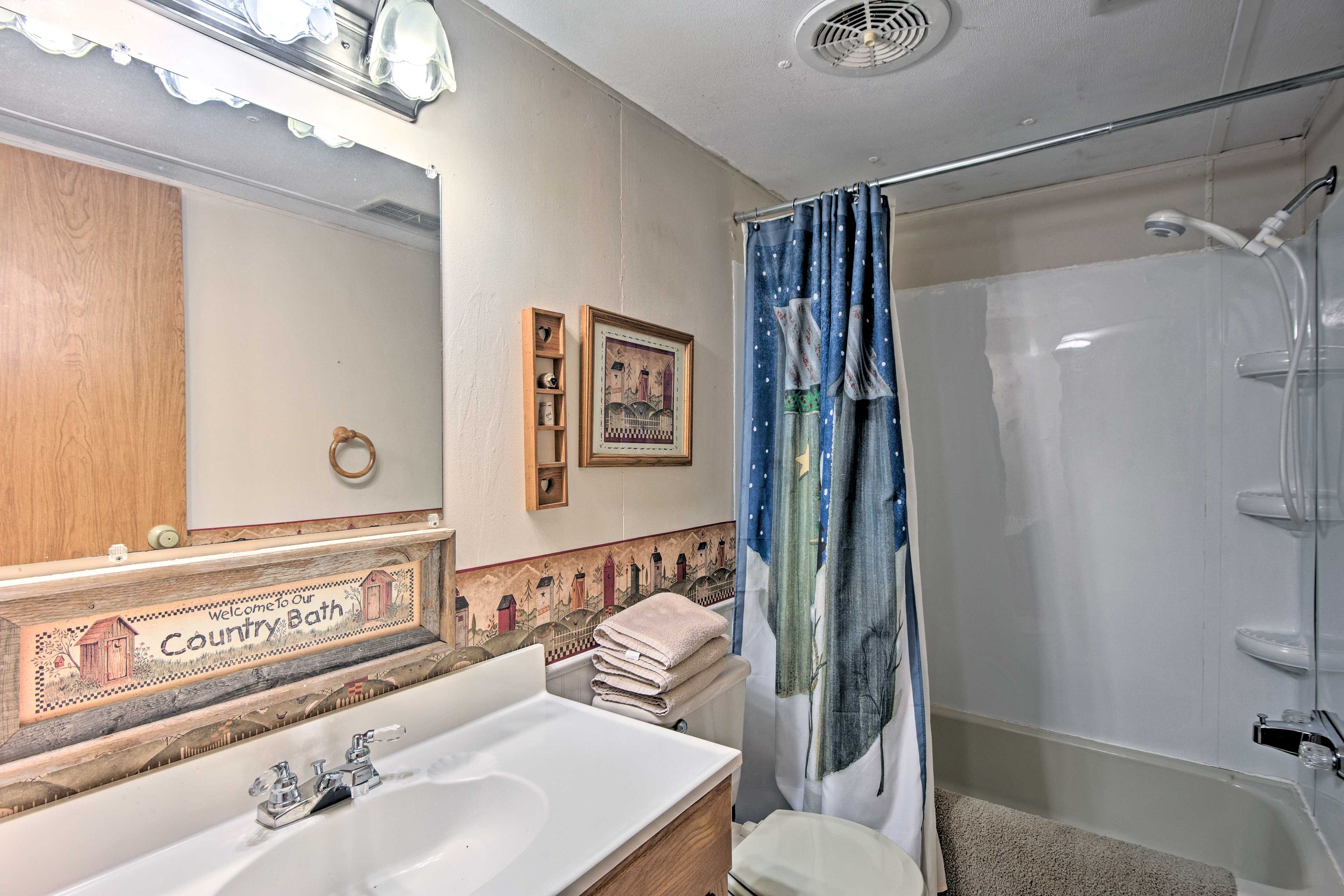 The property includes 2 full bathrooms.