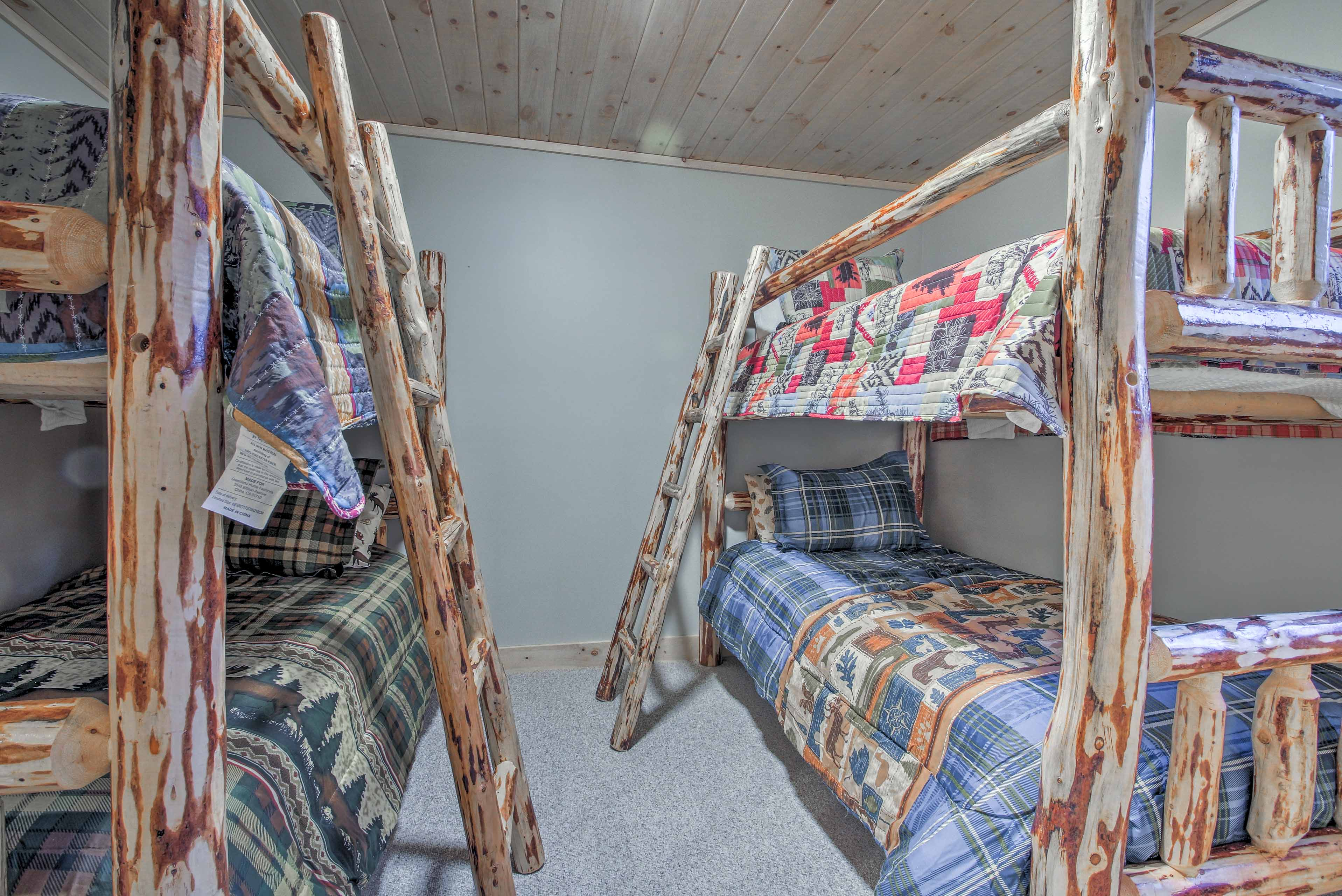 Other youngsters can make this bunk room their new sleeping quarters.