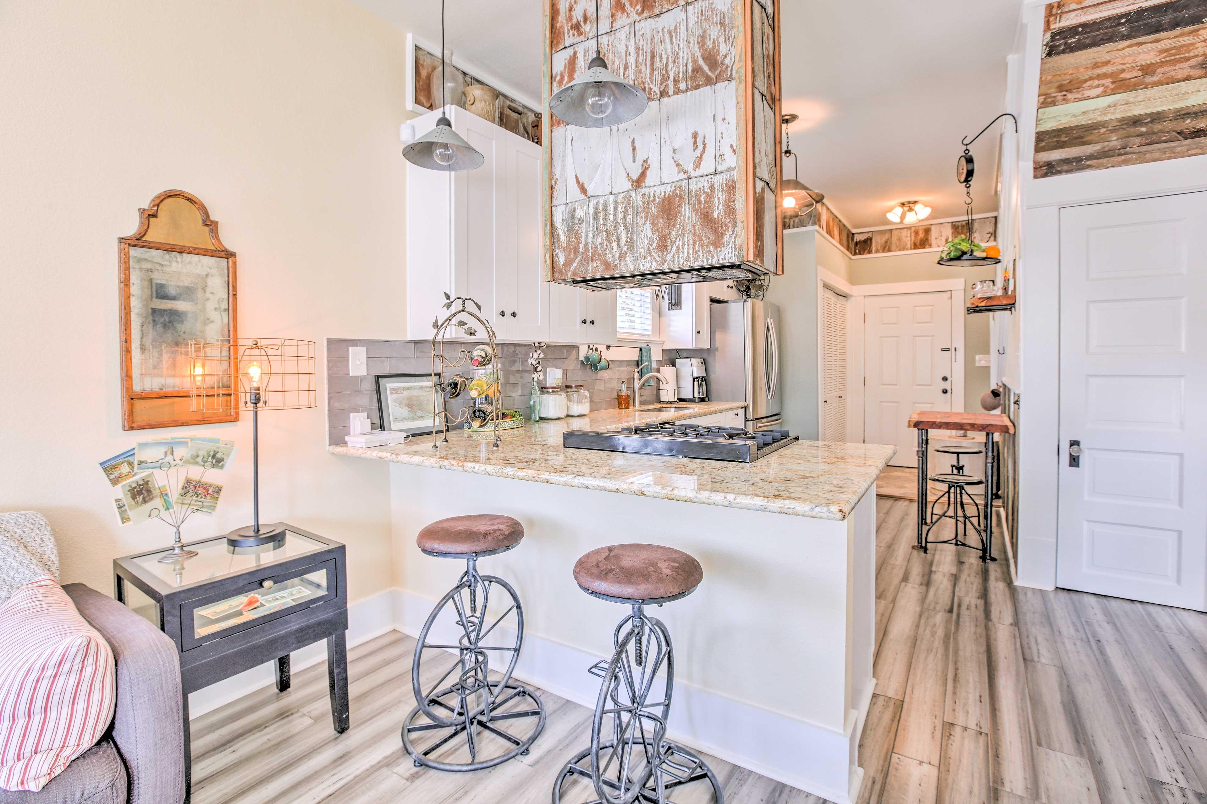 This unique, farm-style kitchen is truly a chef's dream.