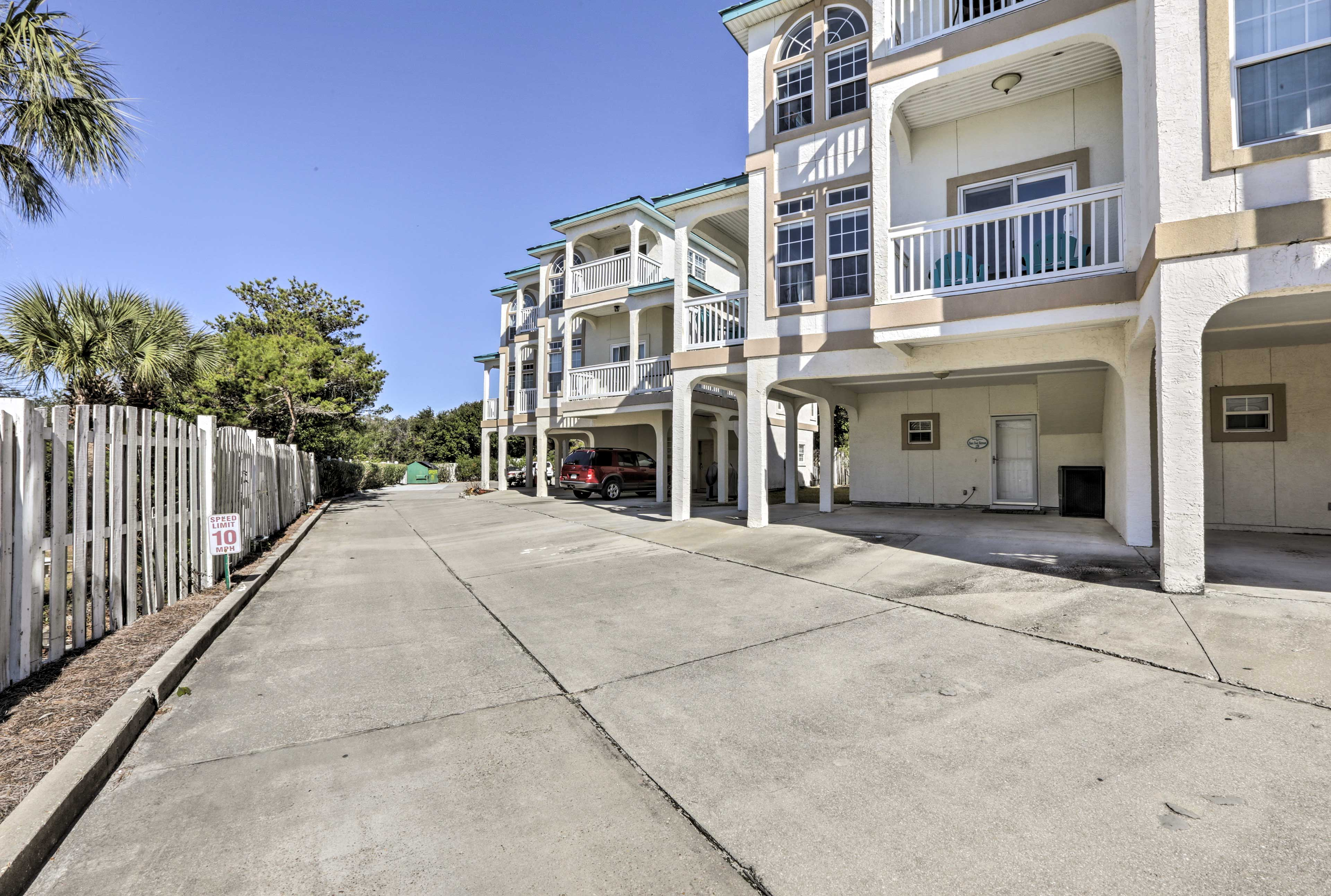 This home provides access to the best of the Panhandle and the beach.