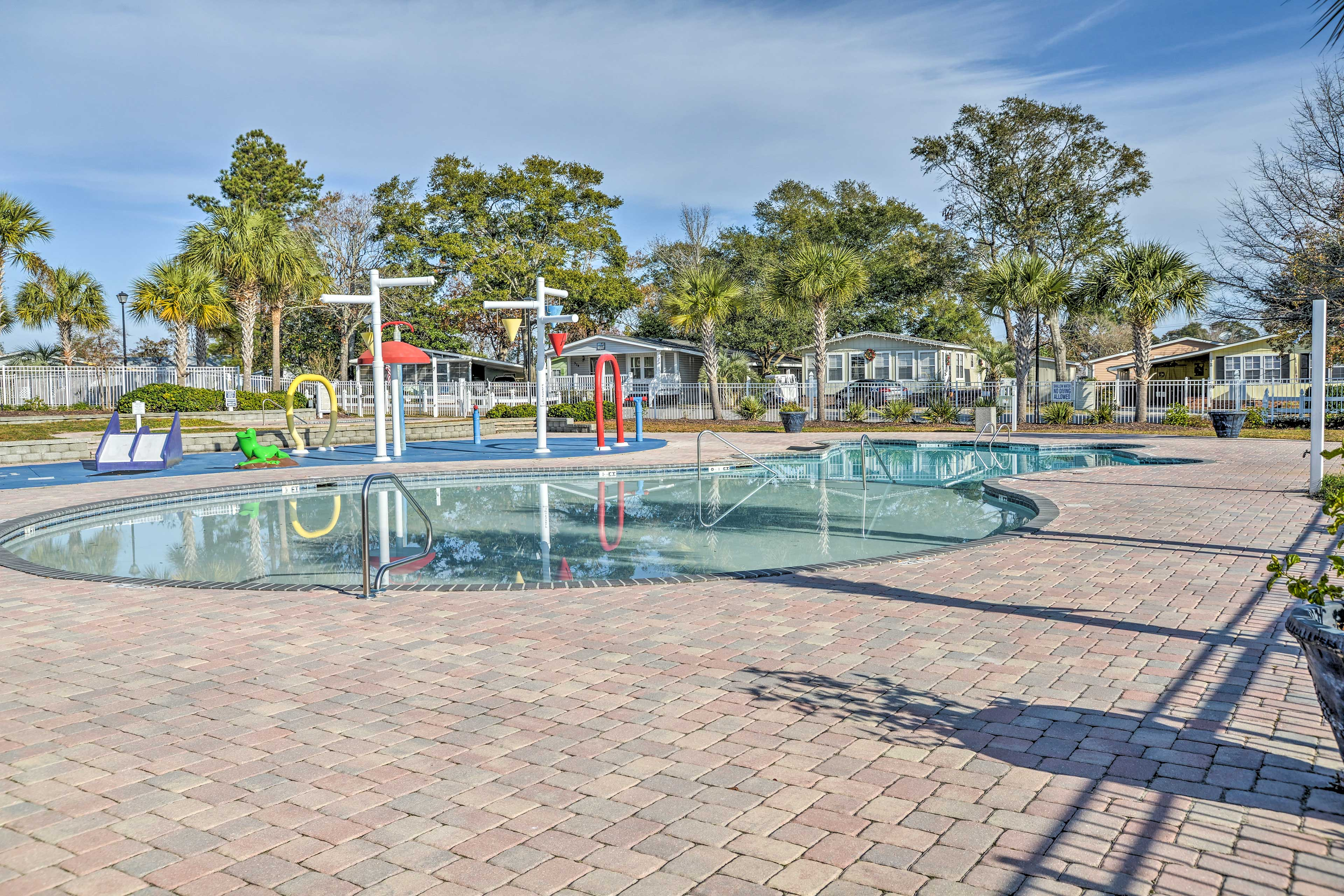 When you're in the mood for water, take a swim in one of the 3 on-site pools.