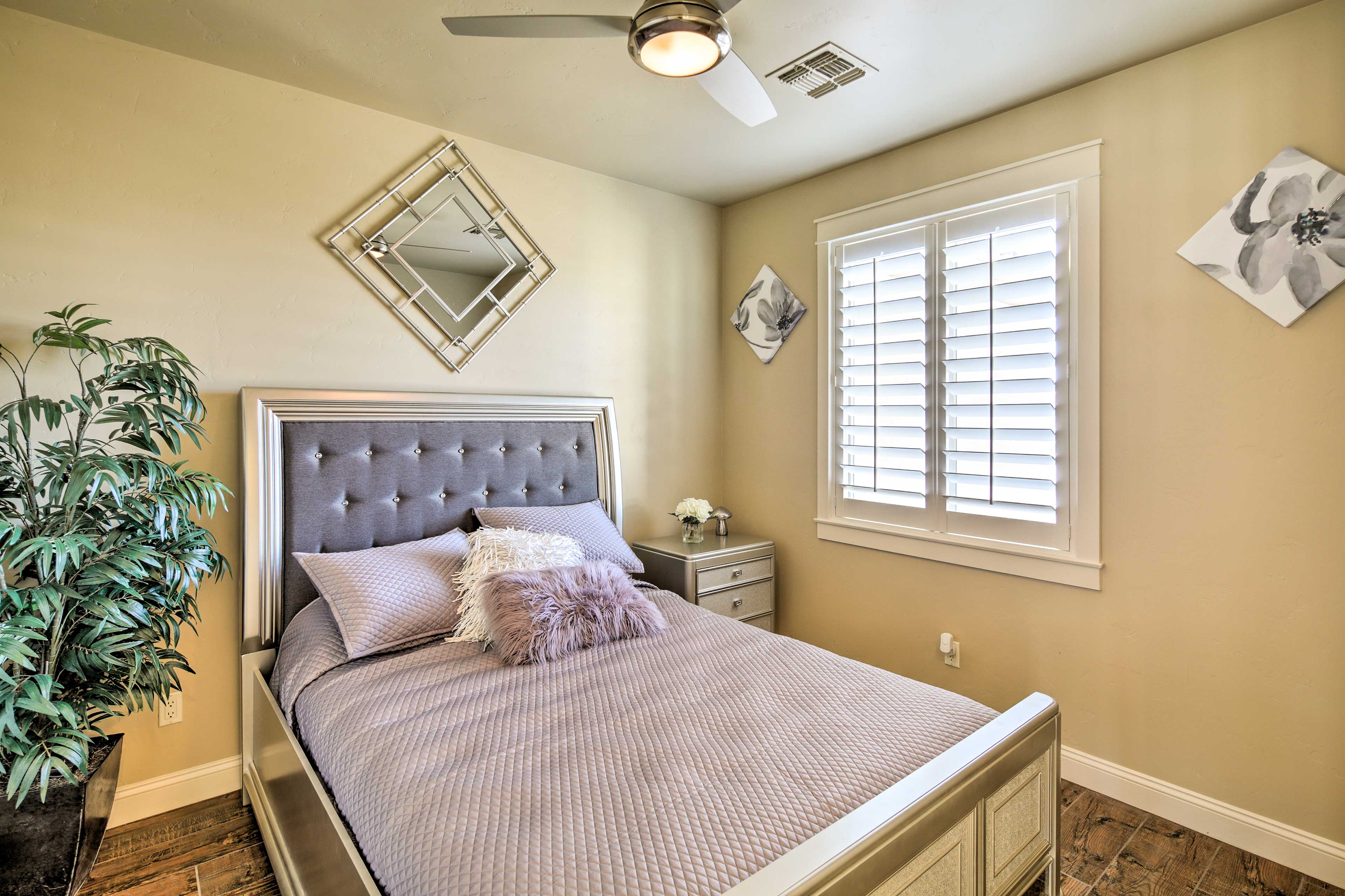 Those staying in bedroom 3 will be gifted to a cozy queen bed.