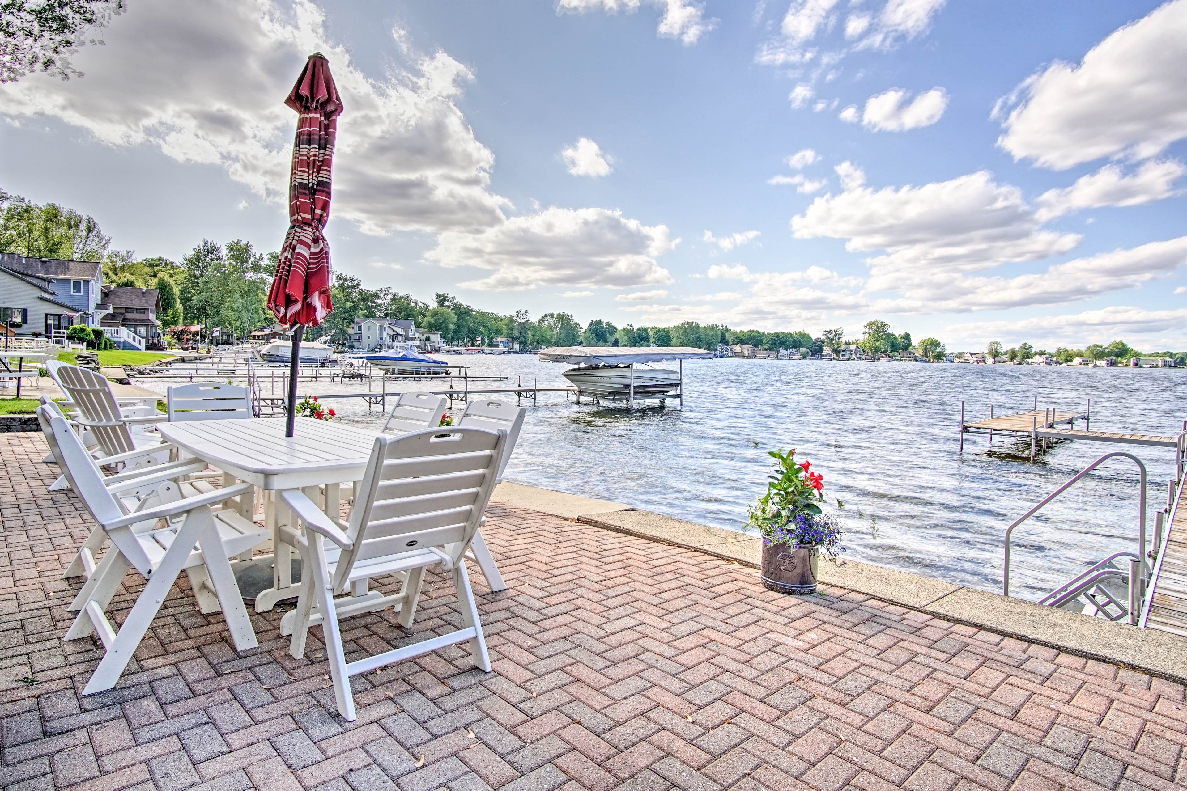 Fall in love with the lake at this vacation rental house!
