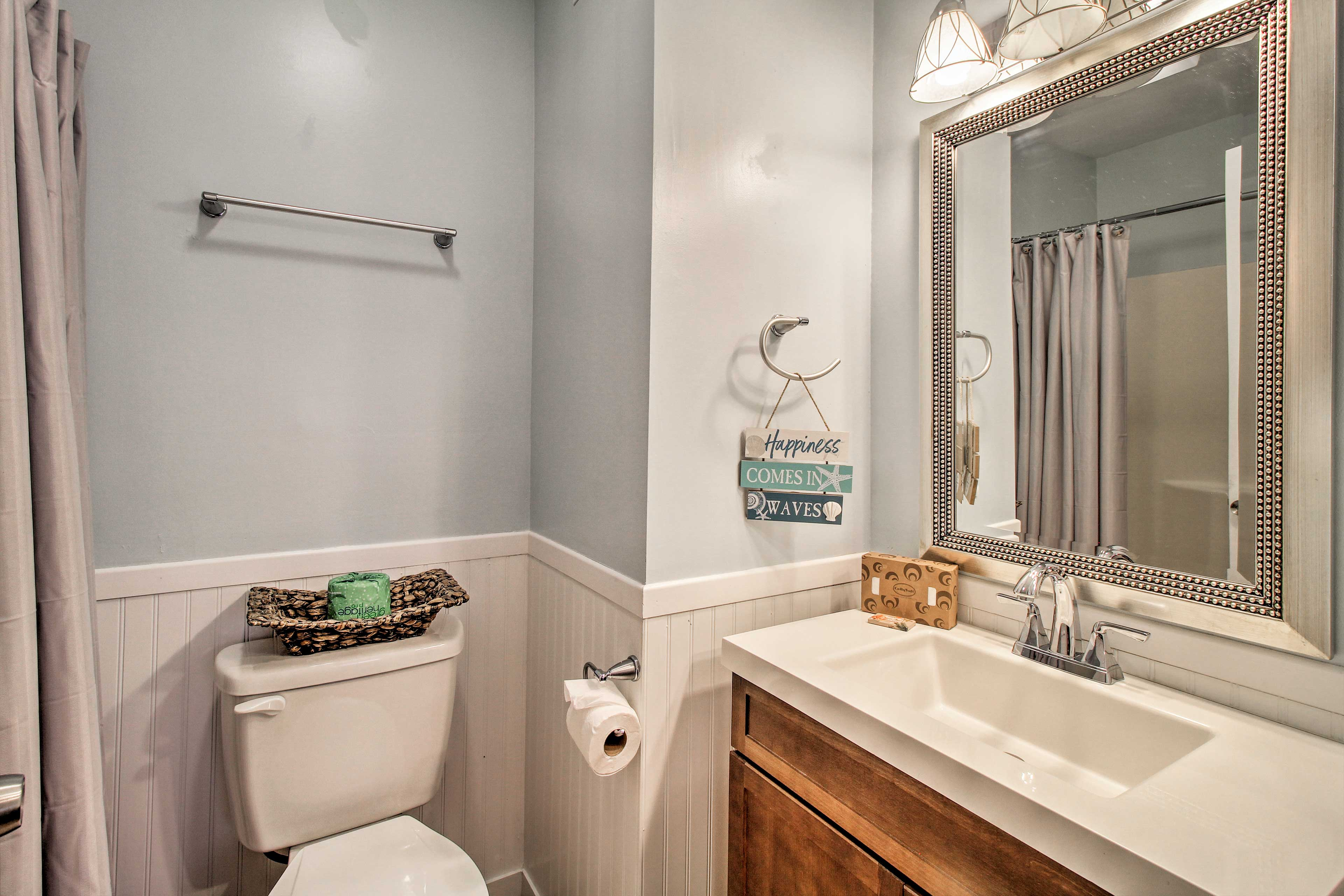 You'll have the added luxury of a master en-suite bathroom.