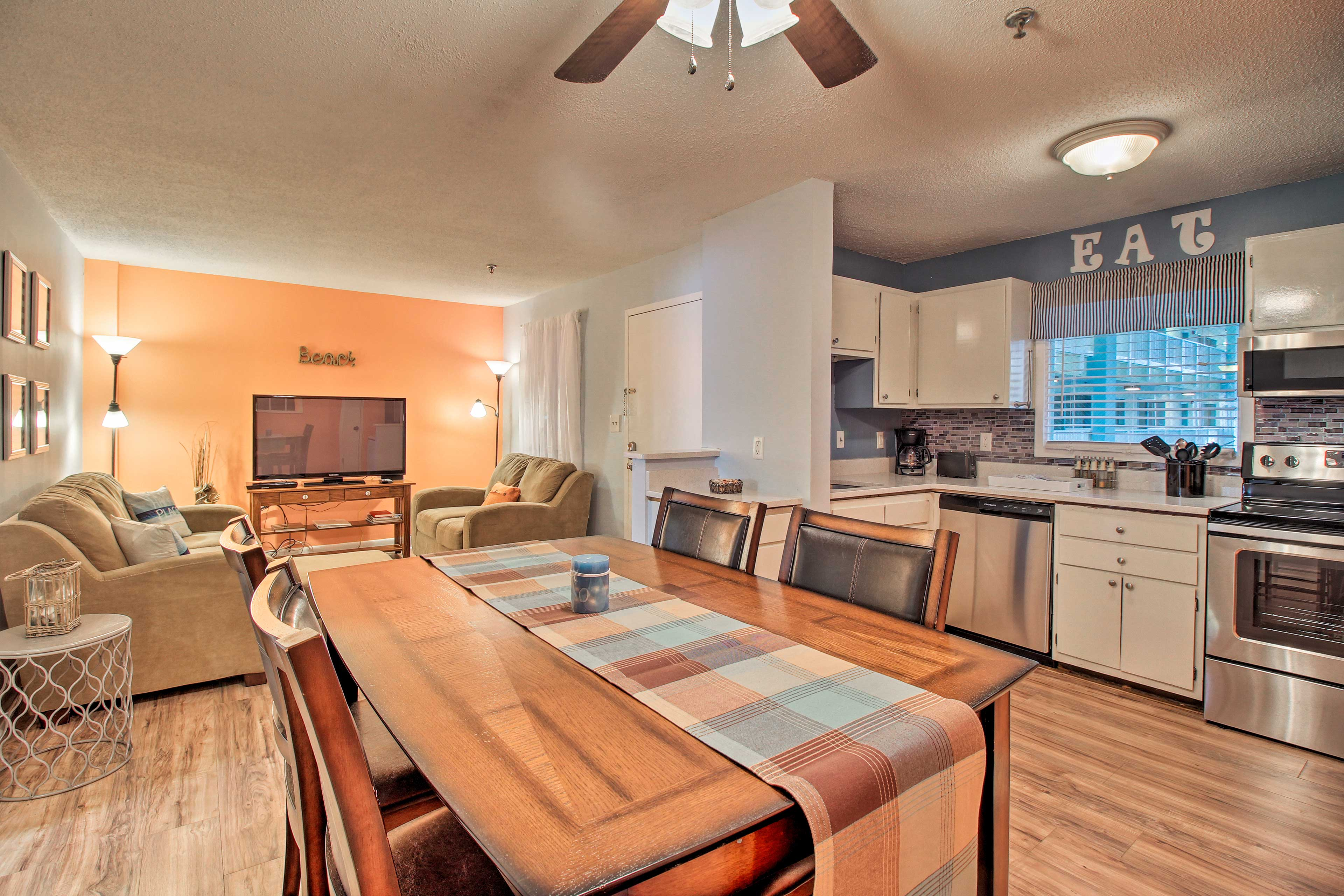 You'll feel right at home as you relax inside this cozy condo.