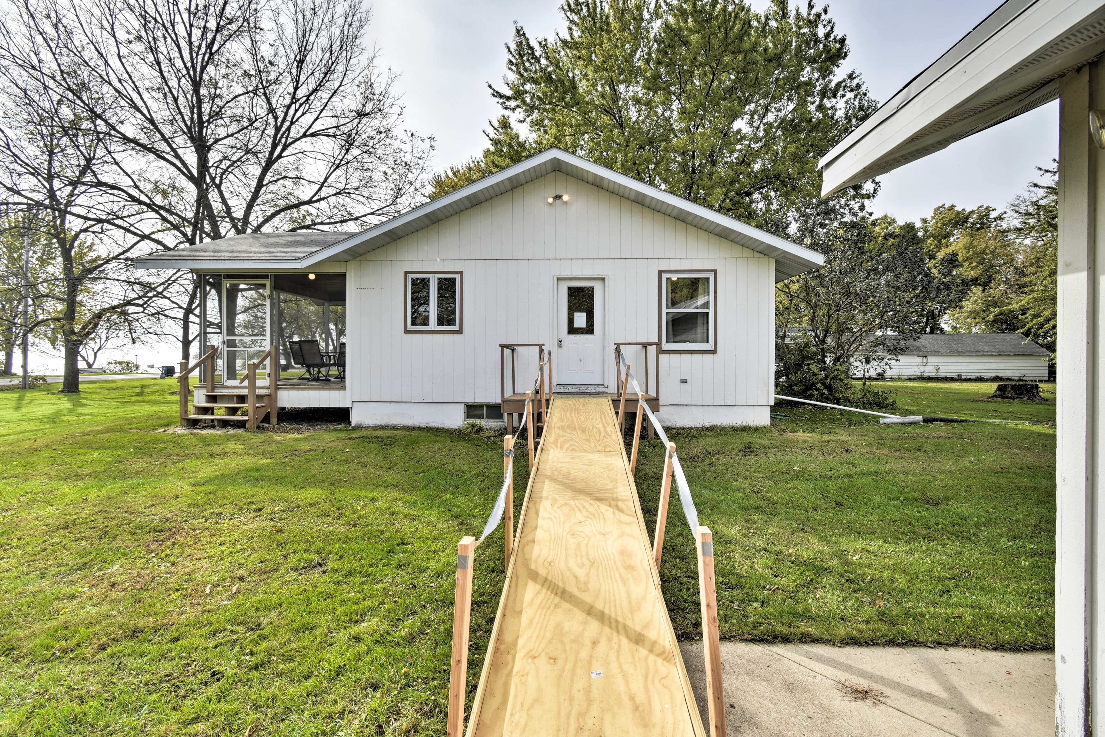 The home is handicap accessible!