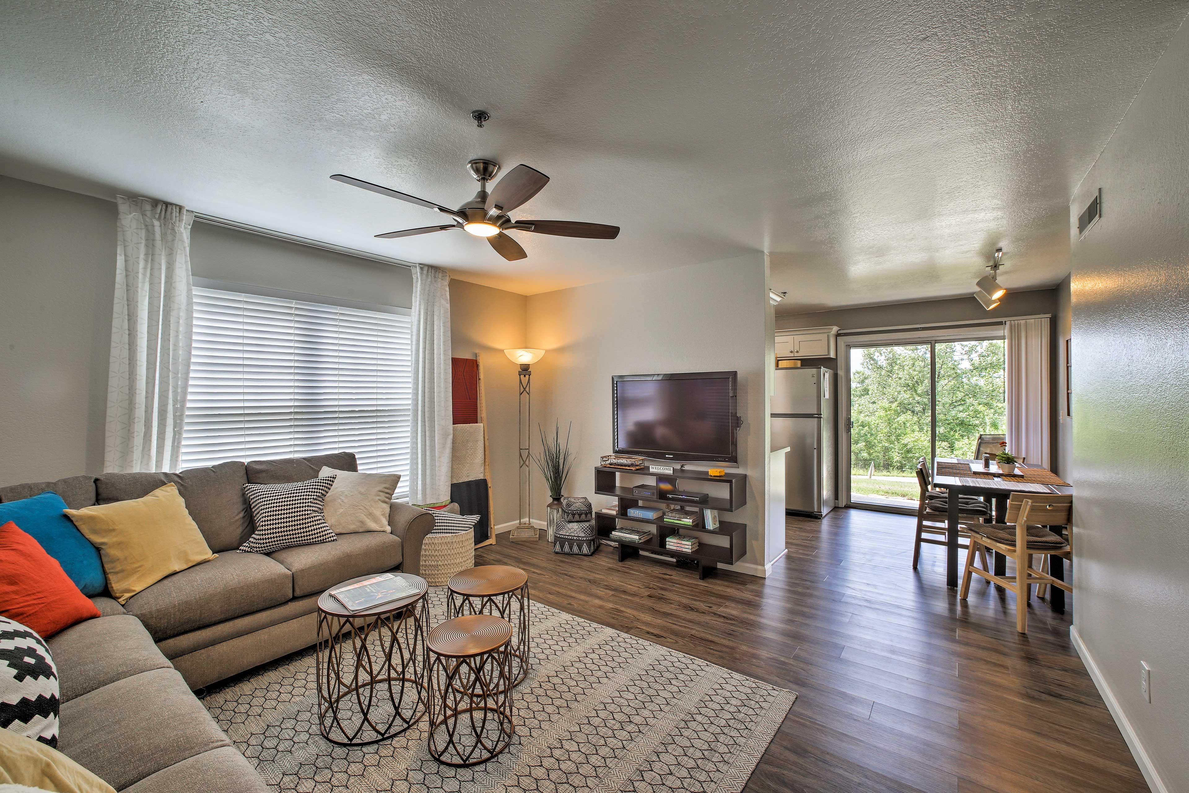 Enjoy Branson in style at this 2-bedroom, 2-bathroom vacation rental condo!