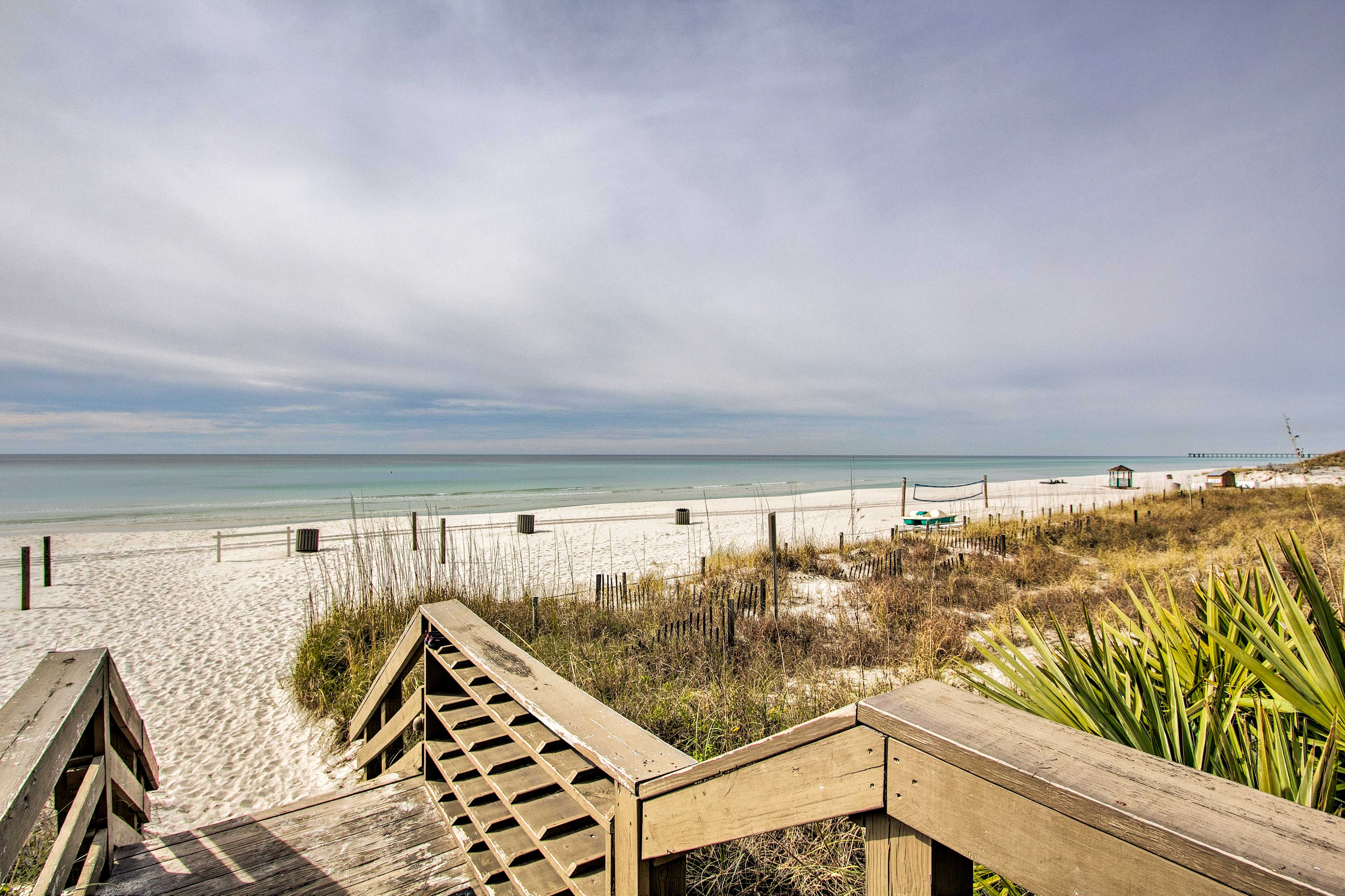 This oceanfront condo is the perfect destination for your next beach vacation!