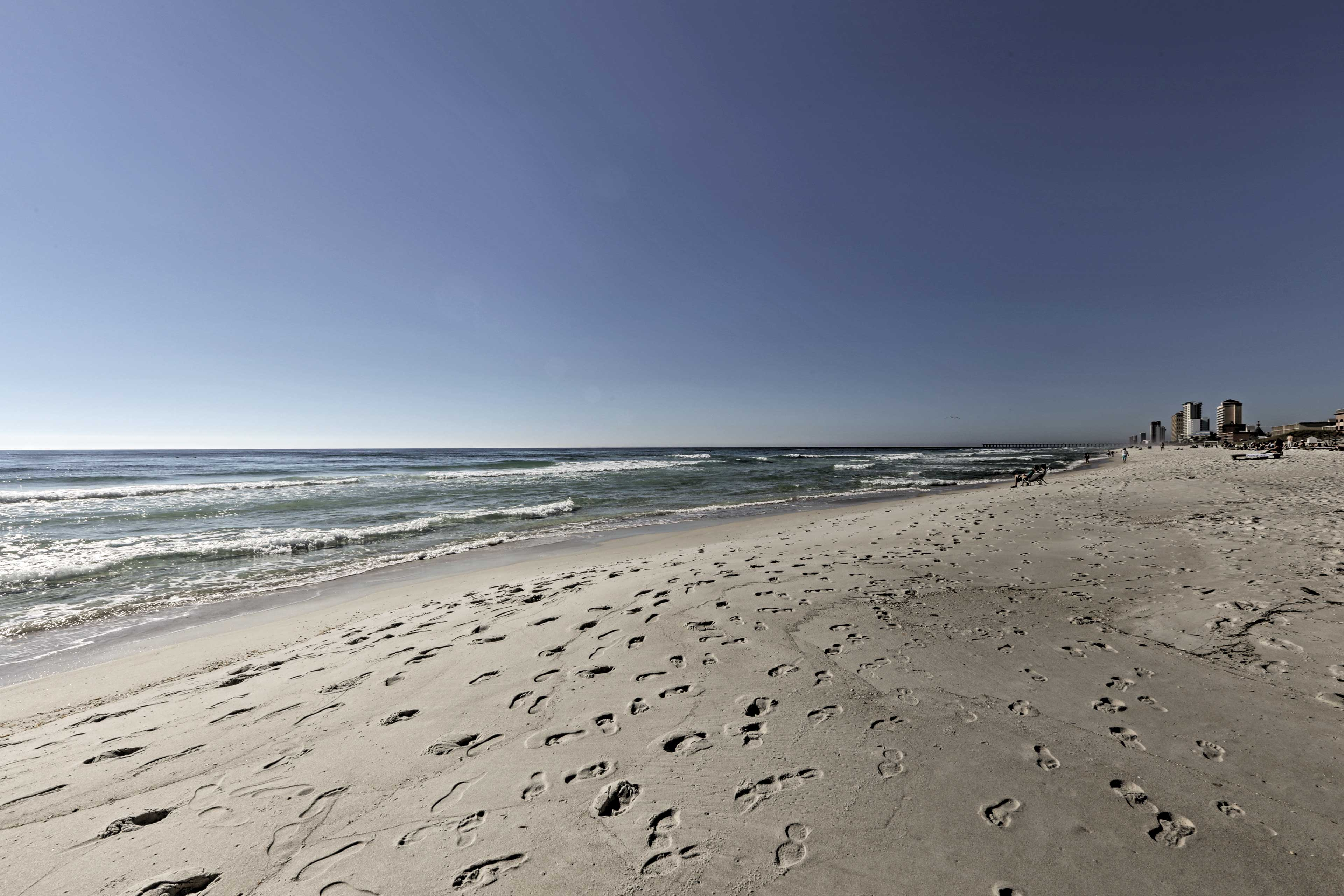 You'll never tire of this stunning beach during your next Florida getaway!