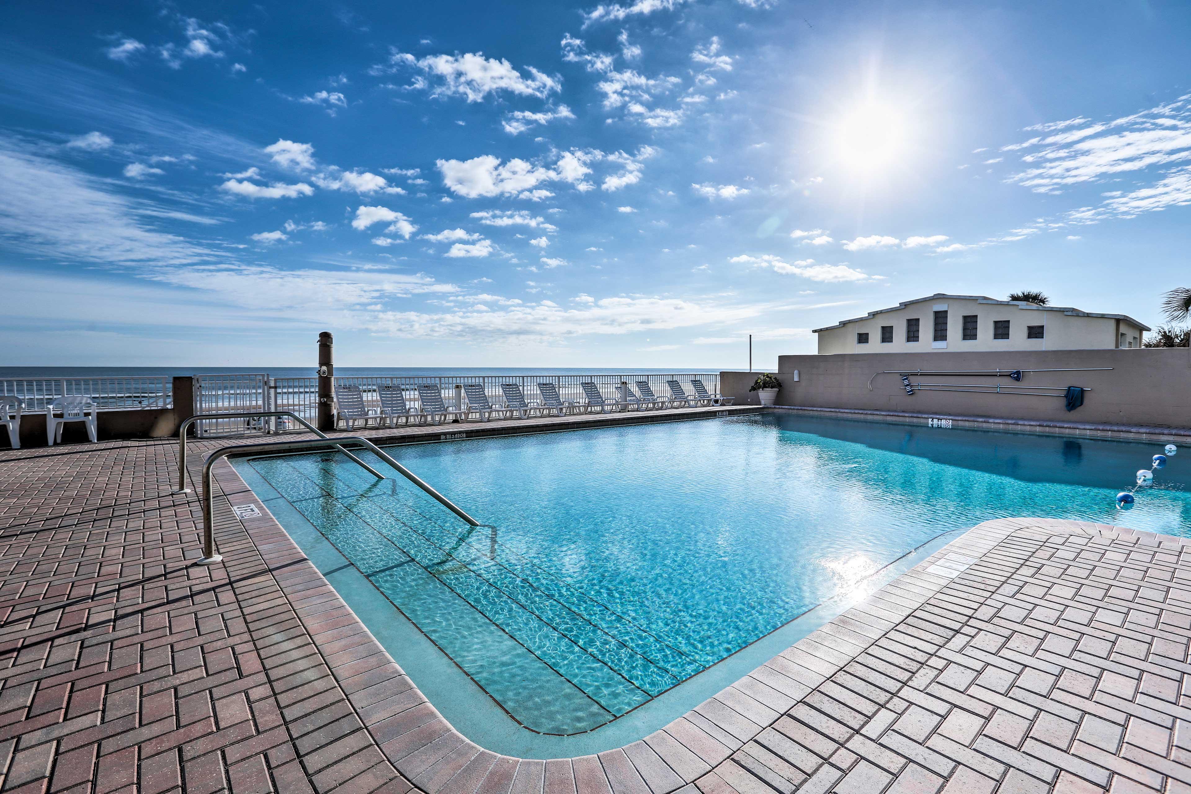Escape to the Florida coast at this 1-bathroom studio vacation rental condo!