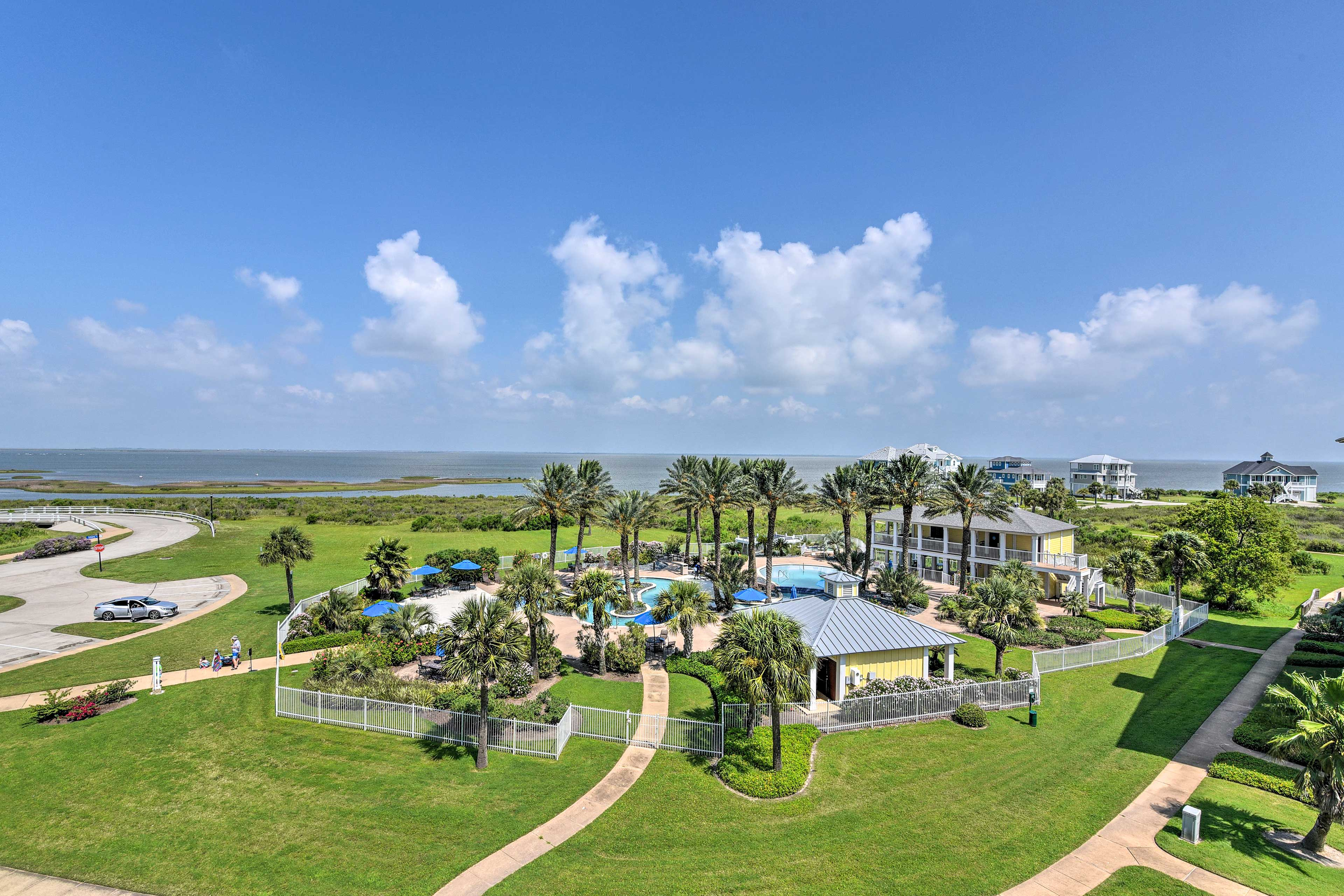 Make the most of this prime location just a 10-minute walk from the beach.