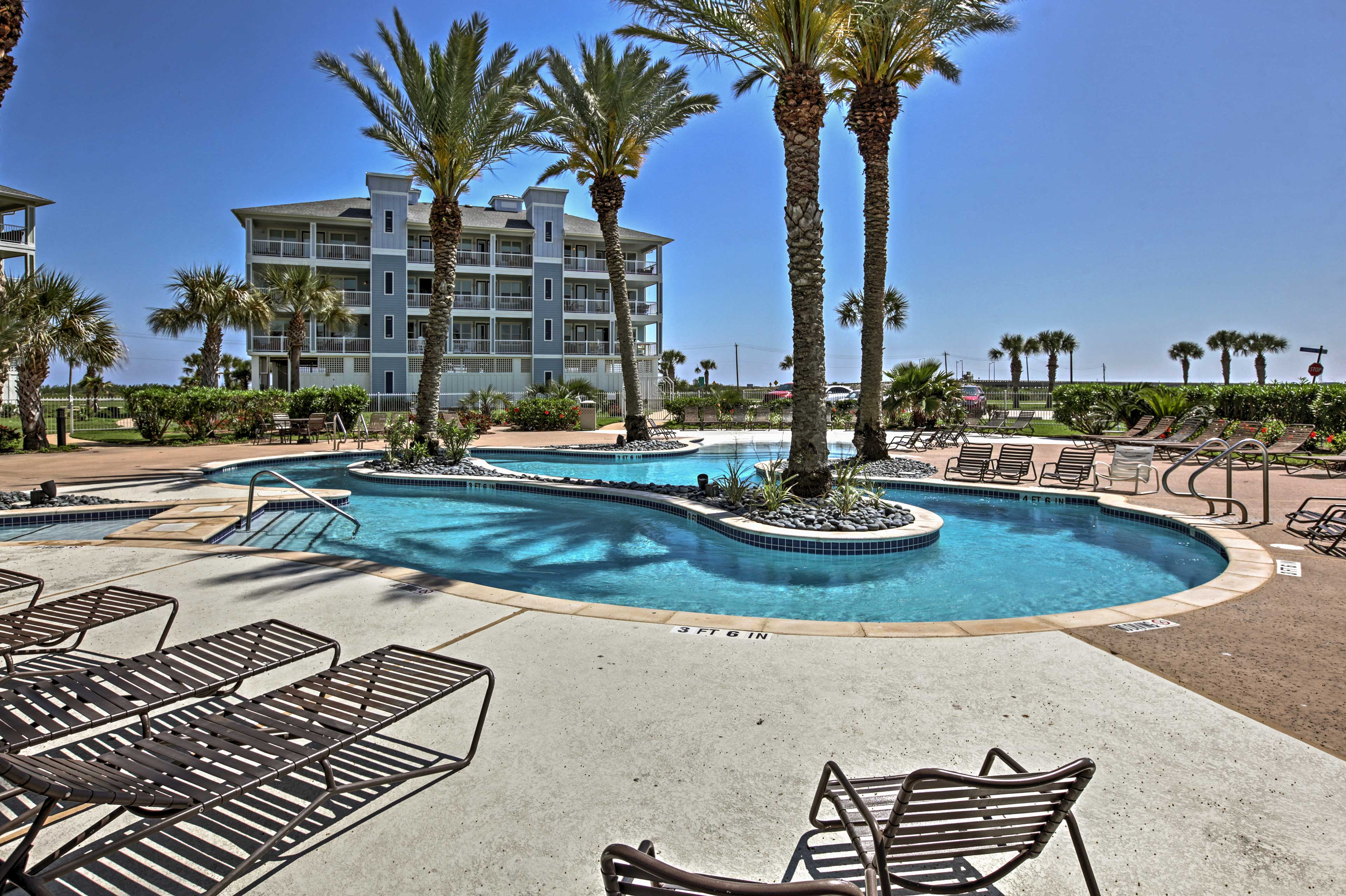 Enjoy access to the amenities of Pointe West Beach Club!