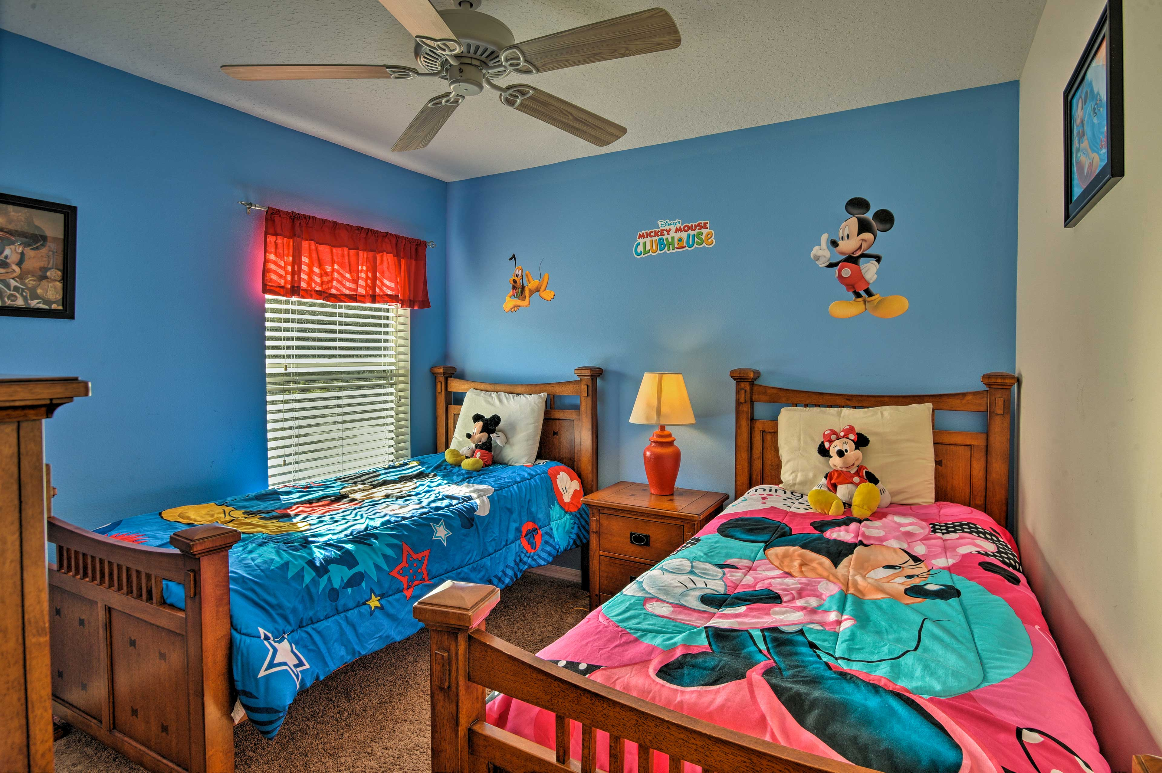 This room boasts characters from Disney!