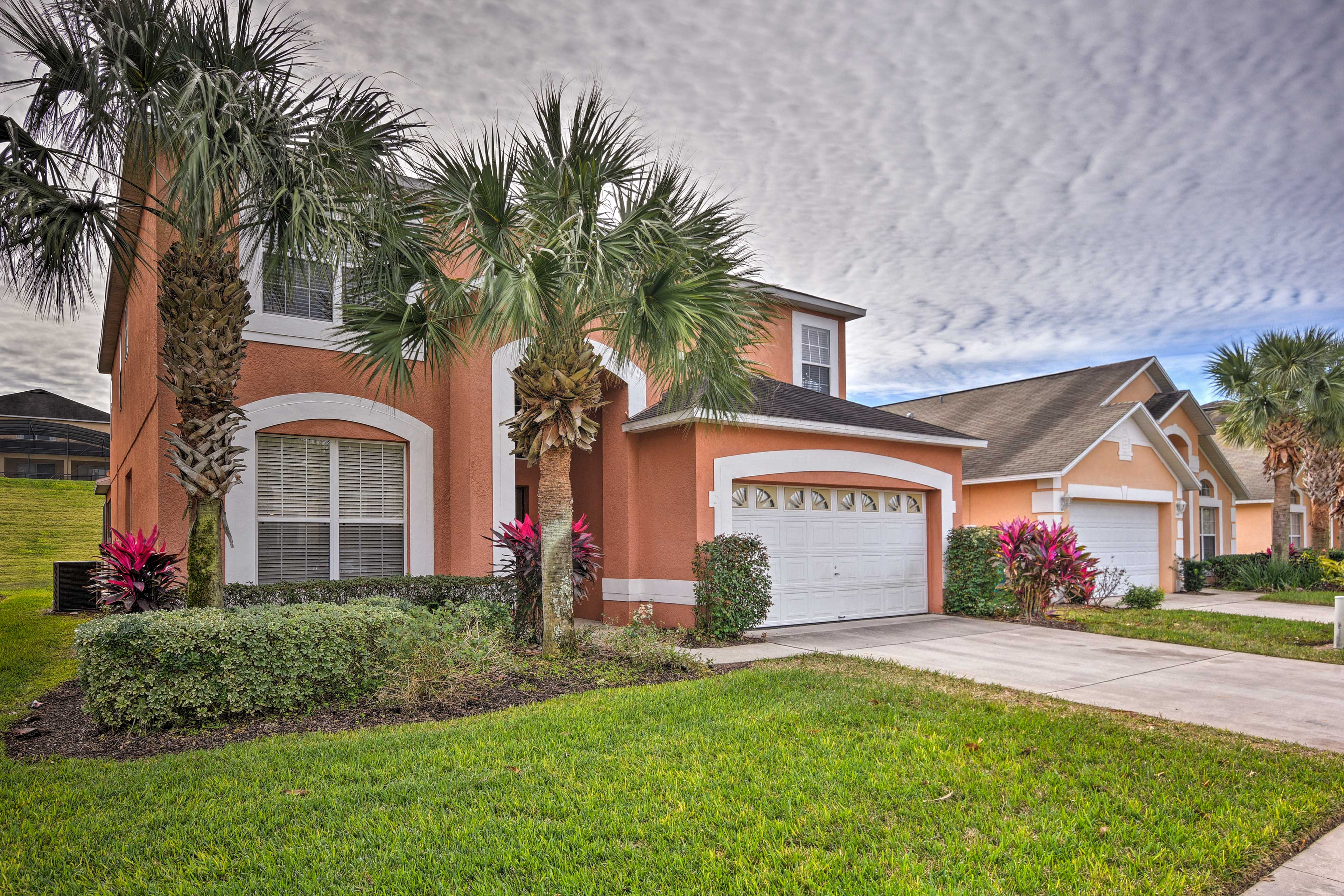 This home is minutes from the Disney Parks.