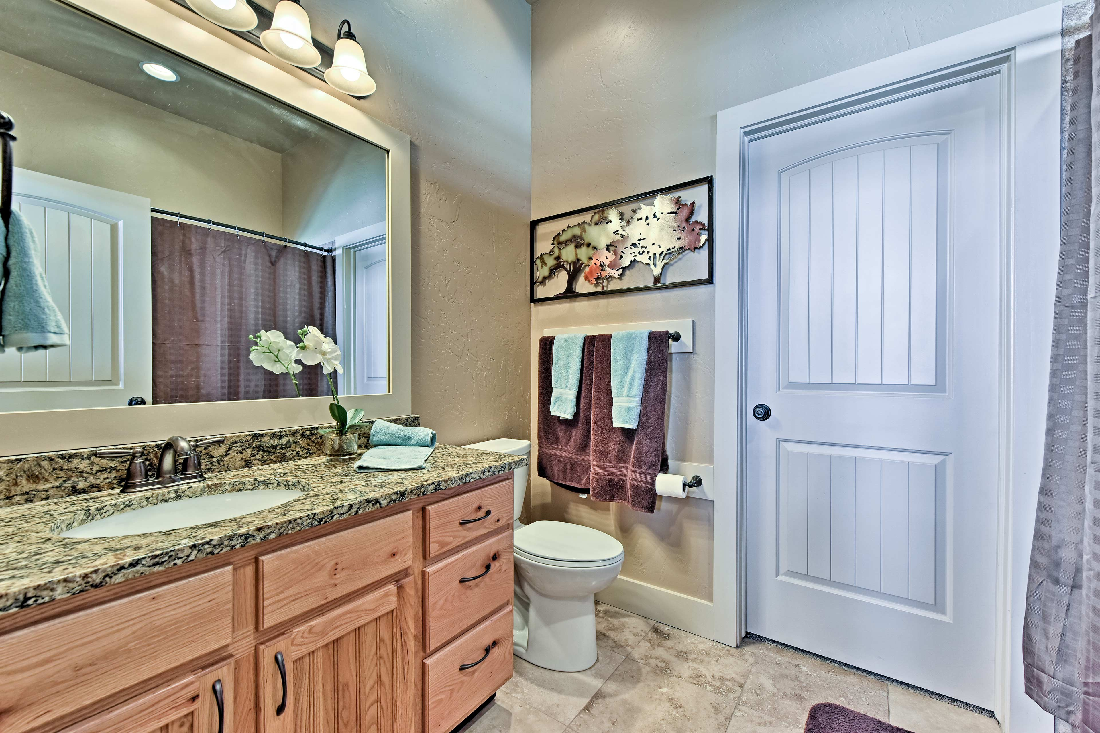 This home features 4 full bathrooms.