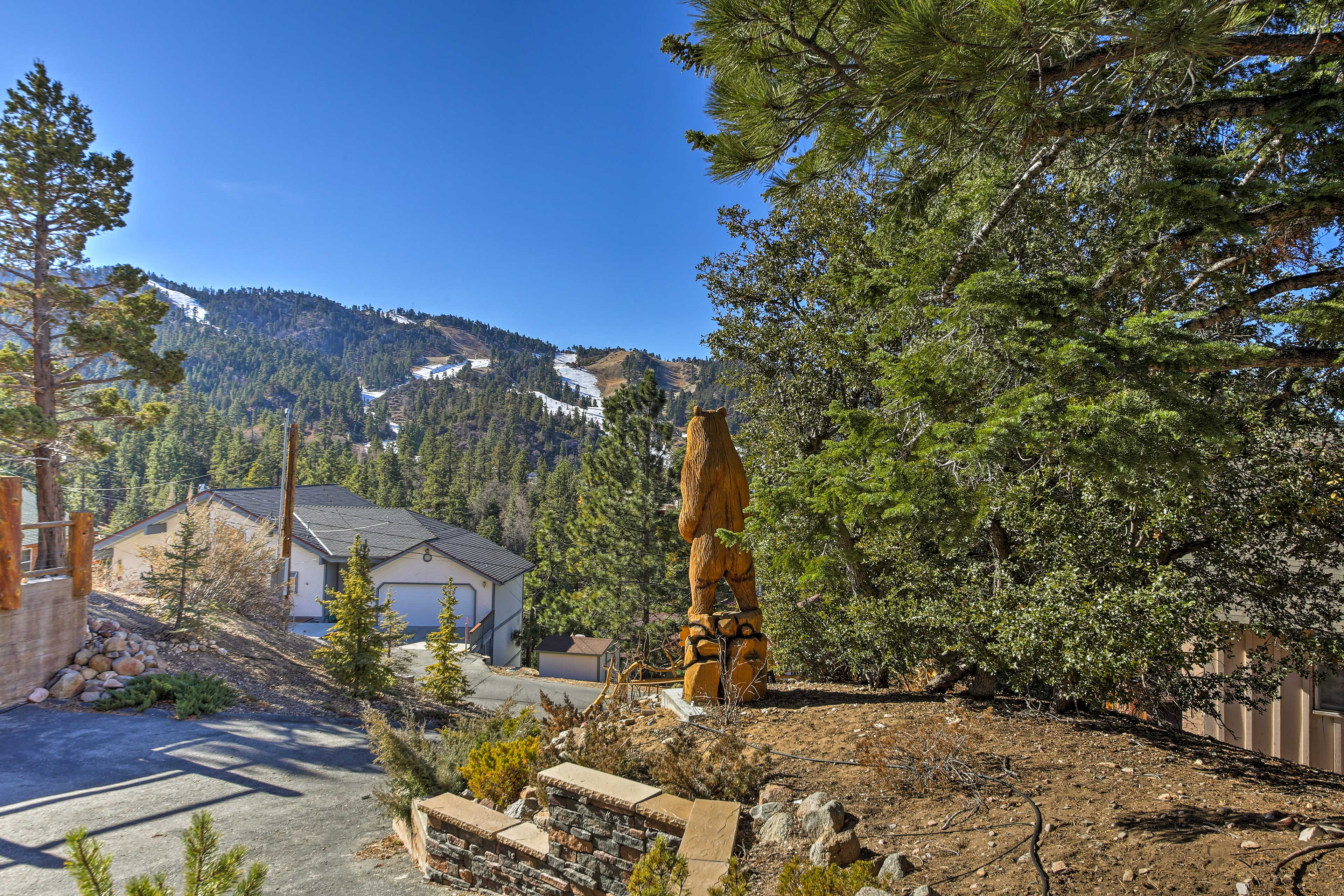 You'll love the close proximity to the mountains!