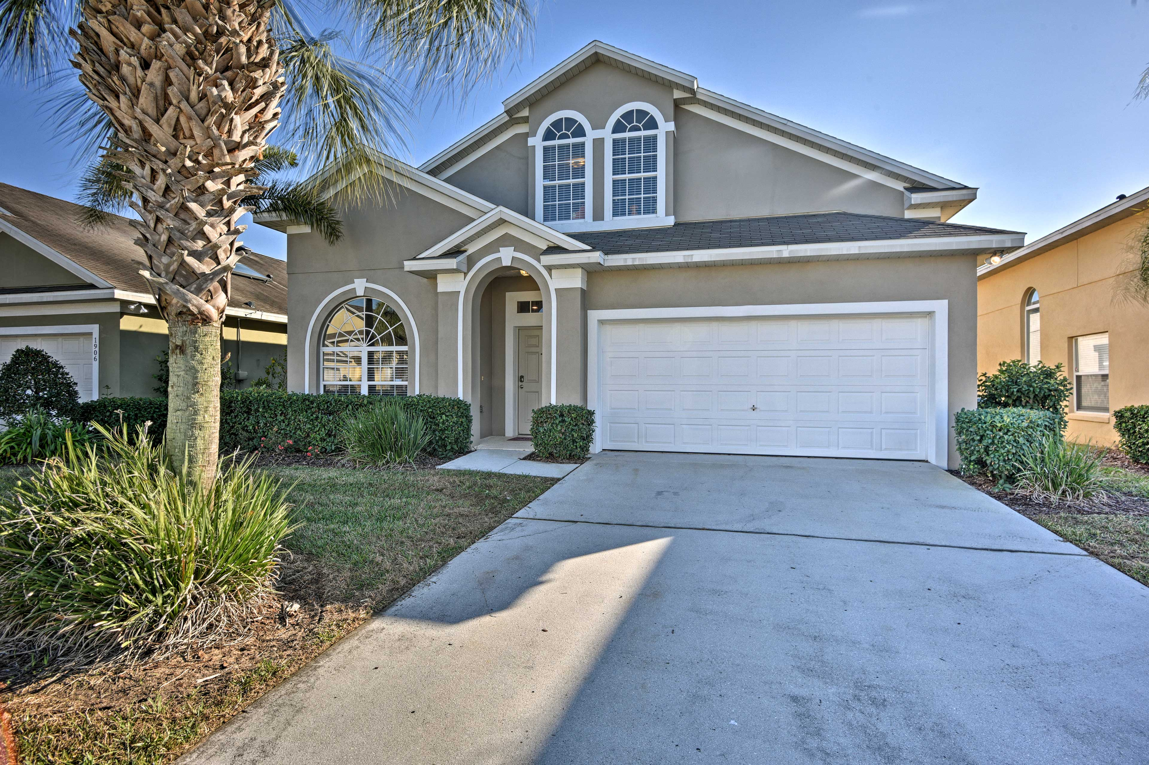 Enjoy a memorable stay at this 5-bed, 4-bath Clermont vacation rental house!