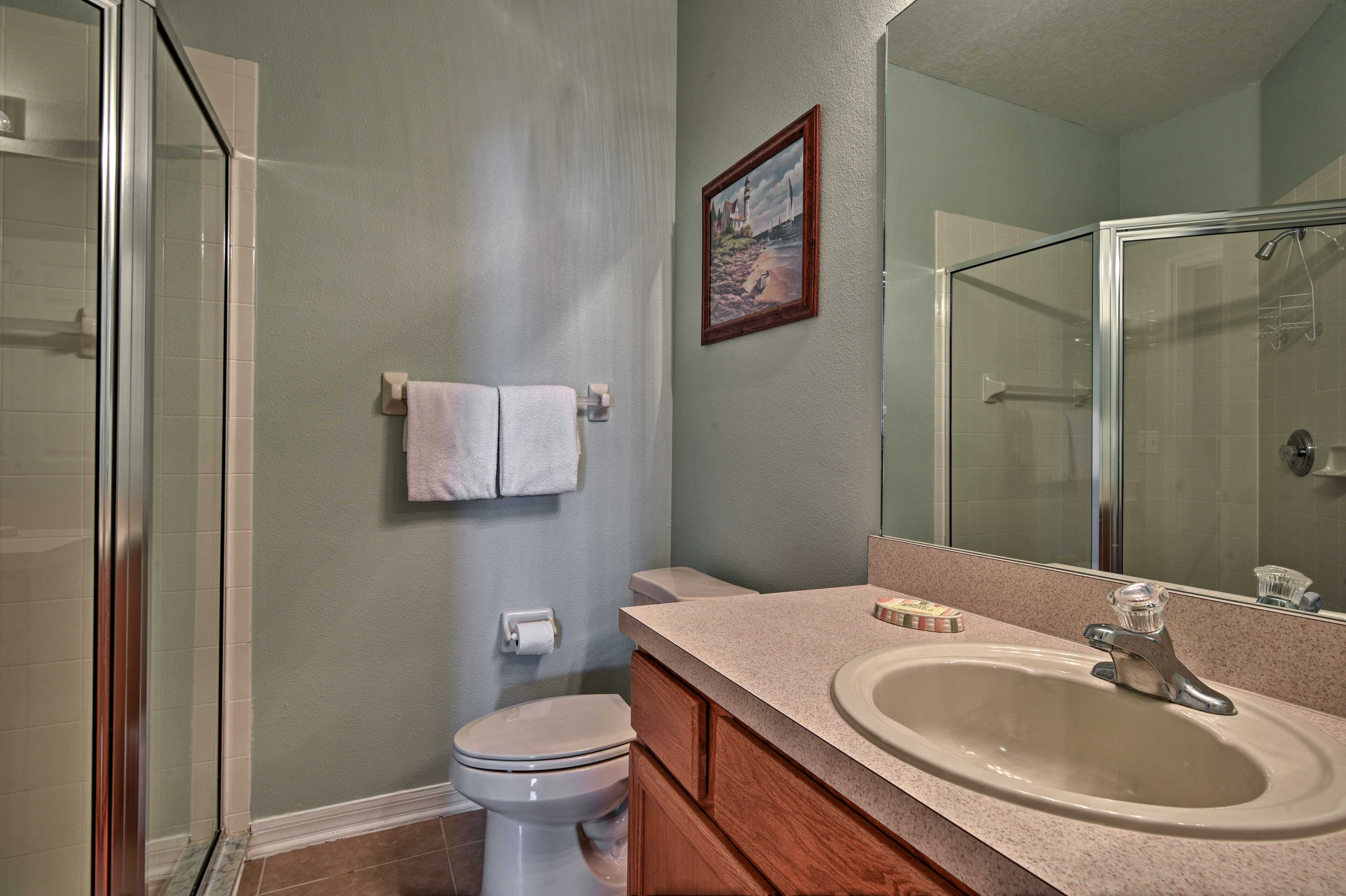 With 4 full bathrooms, there's no shortage of space to get ready in the mornings.