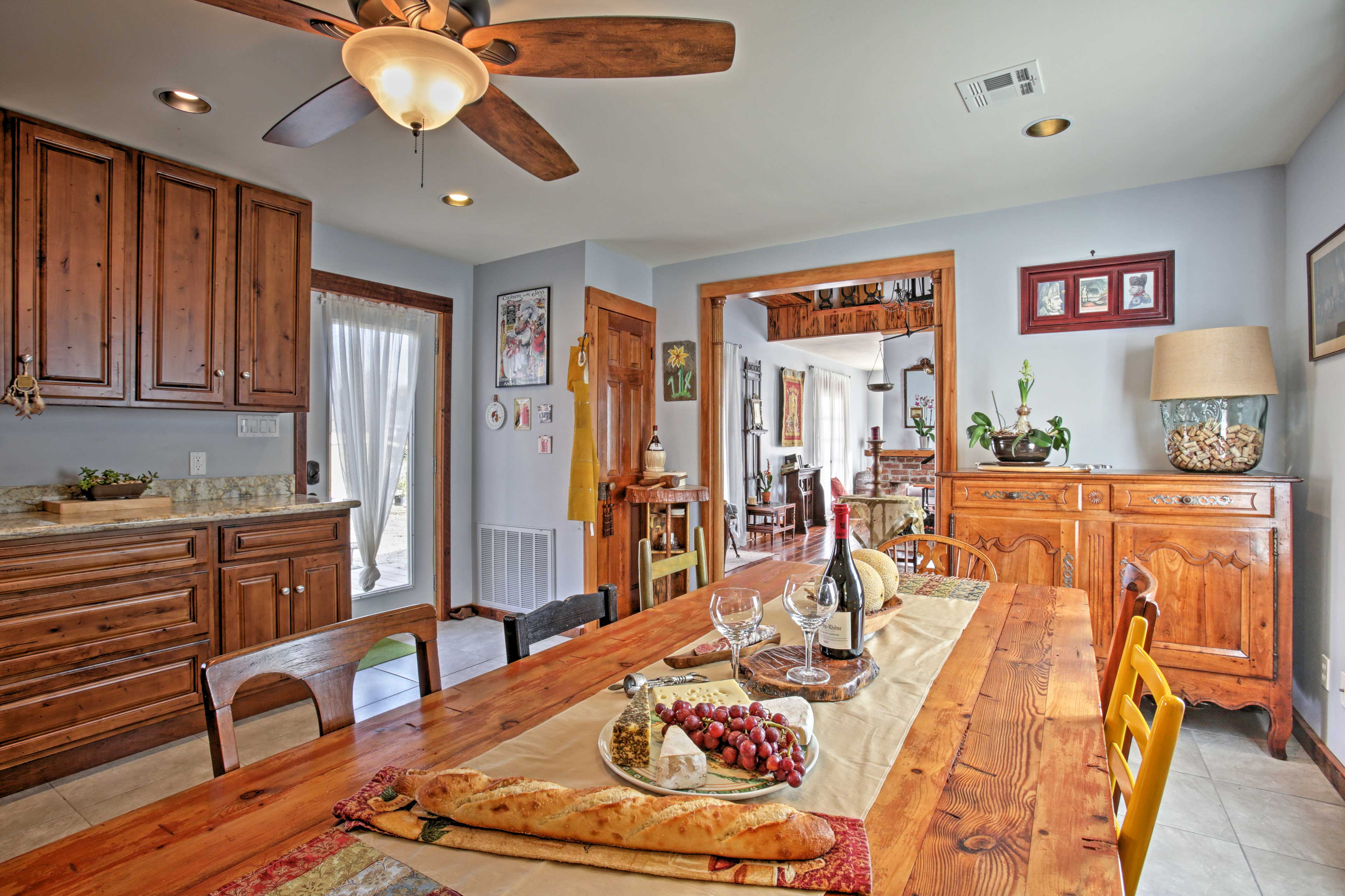 This historic home has been recently updated.