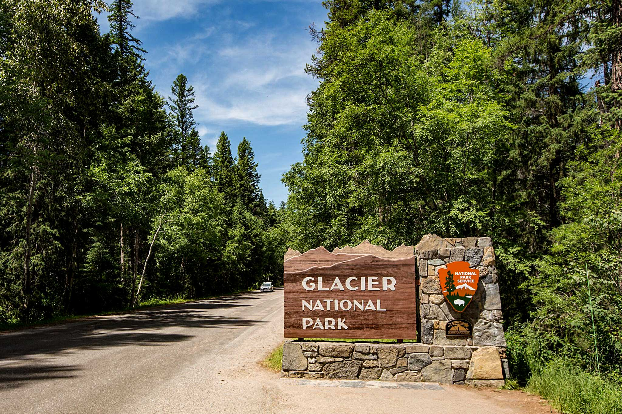 Glacier National Park is right down the road.