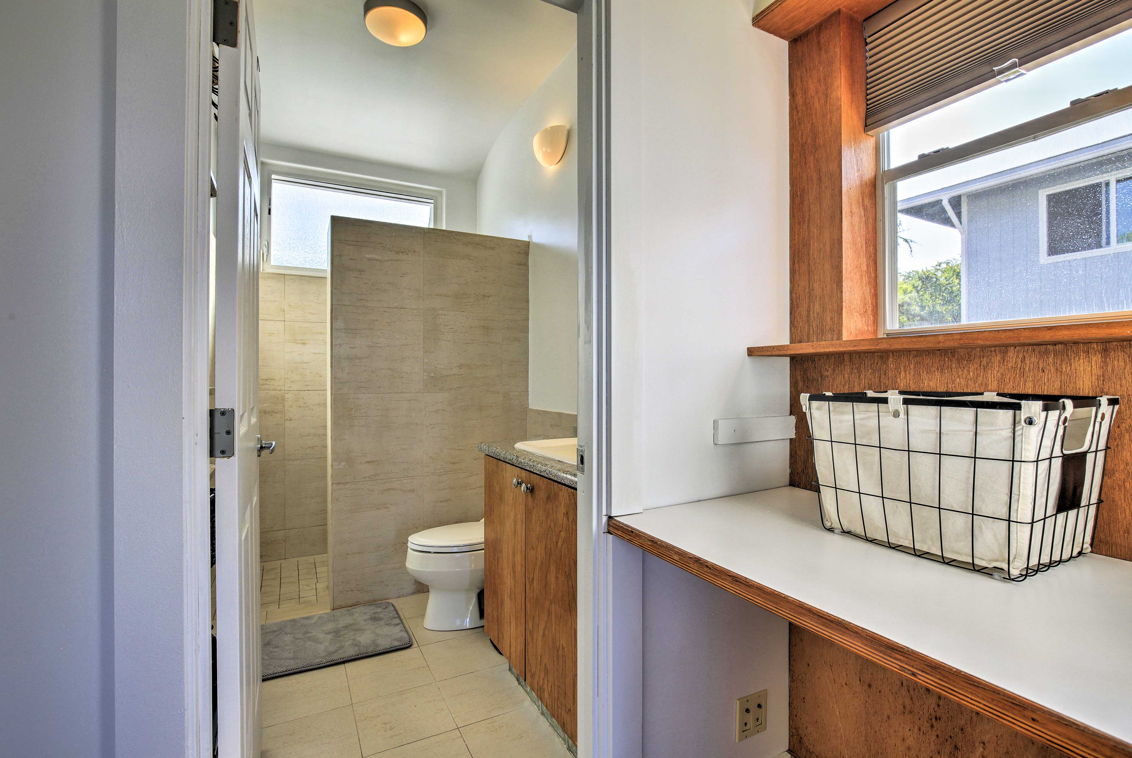 This cottage features 1 full bathroom.