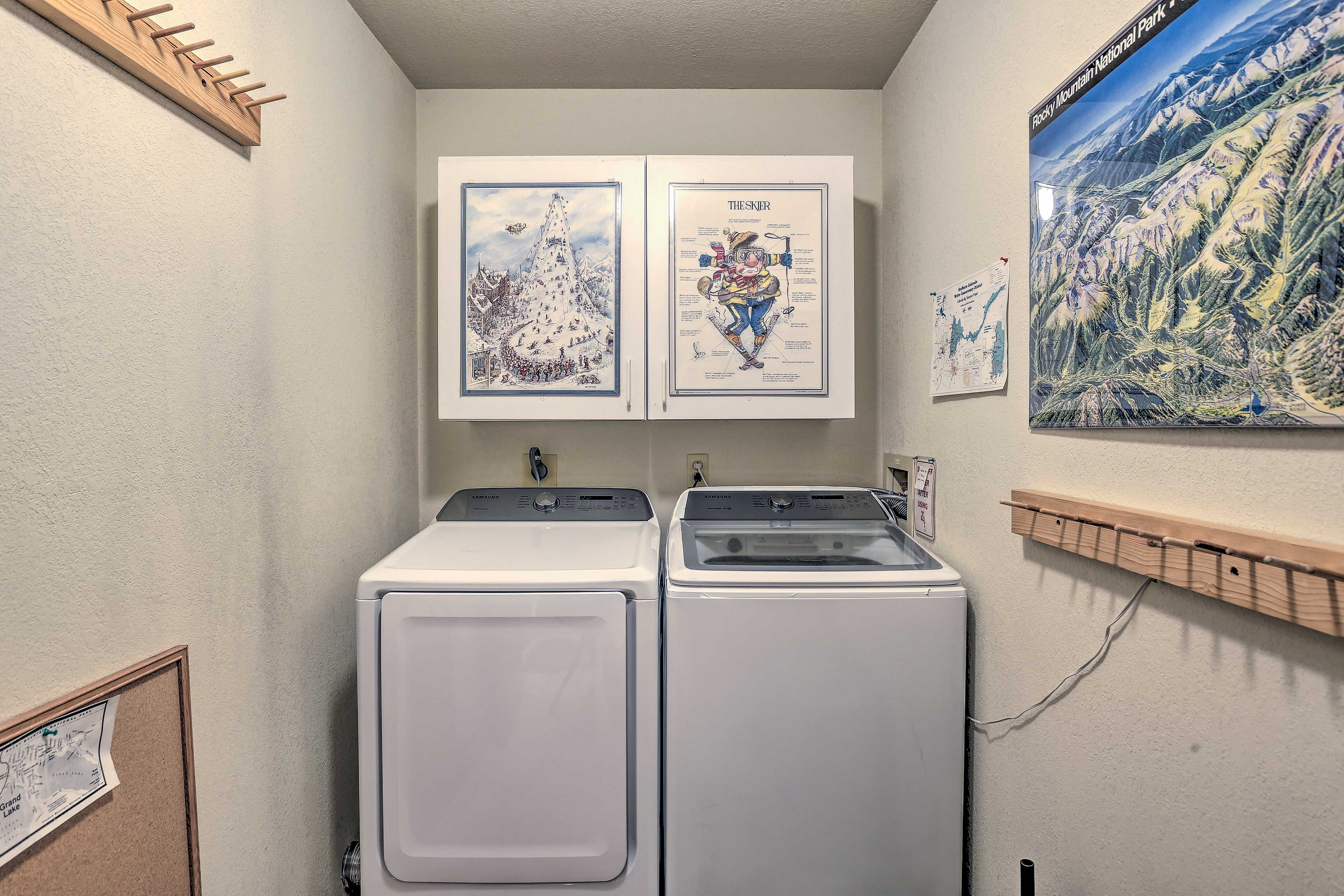 Enjoy the convenience of in-unit laundry.