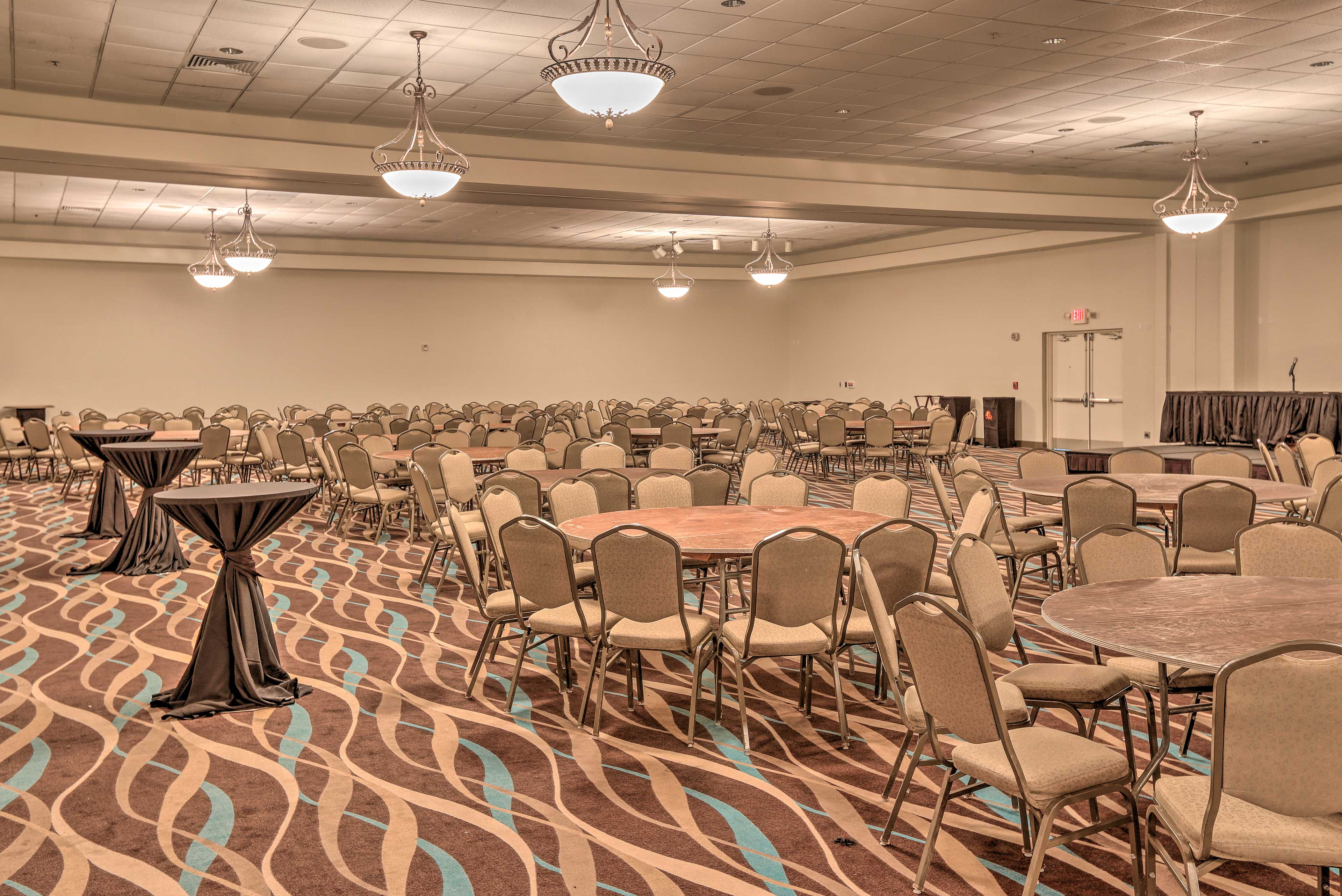 Host events in this community space.