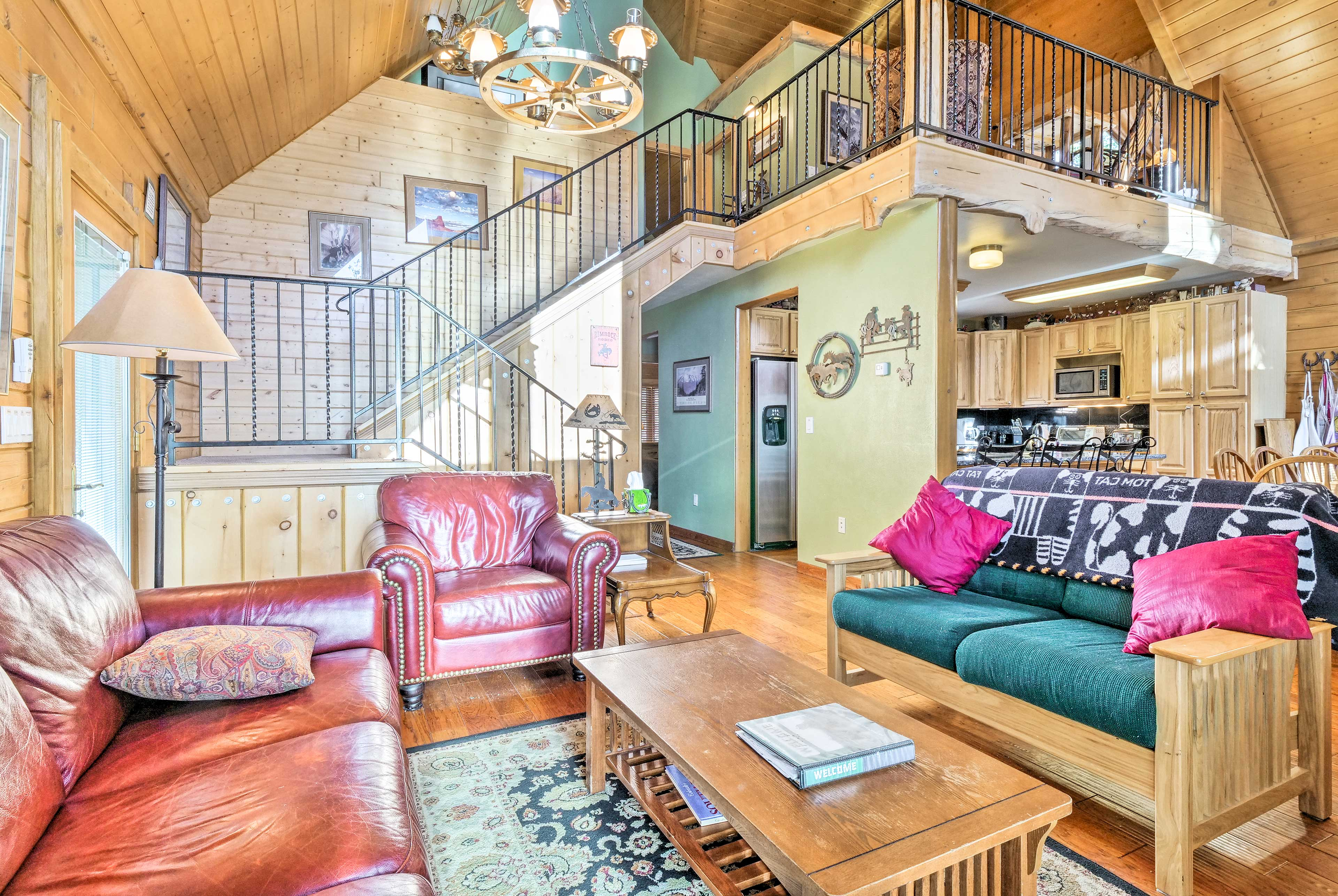 The interior boasts over 3,000 square feet of living space.