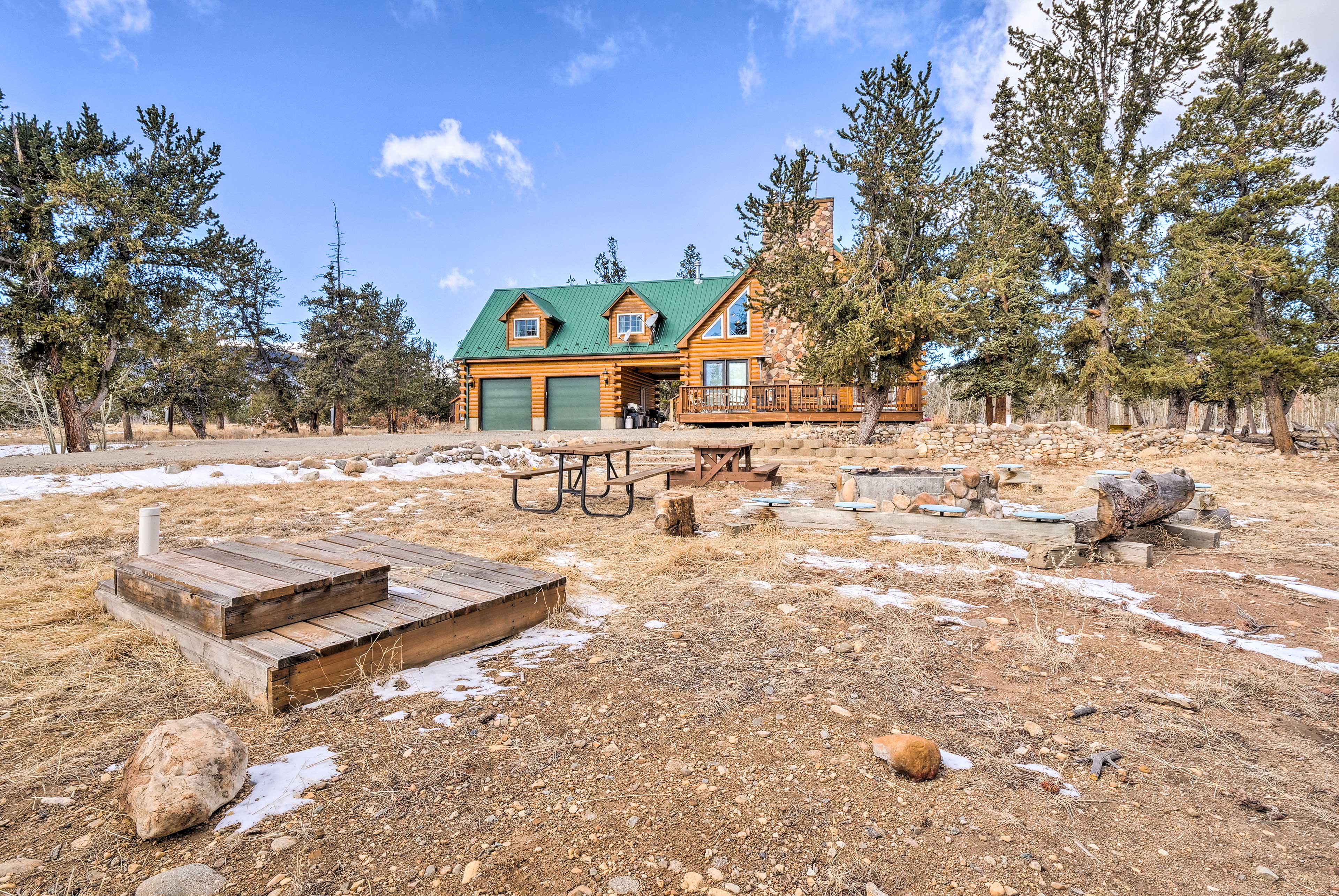 Explore South Central Colorado from this noteworthy cabin in Fairplay!
