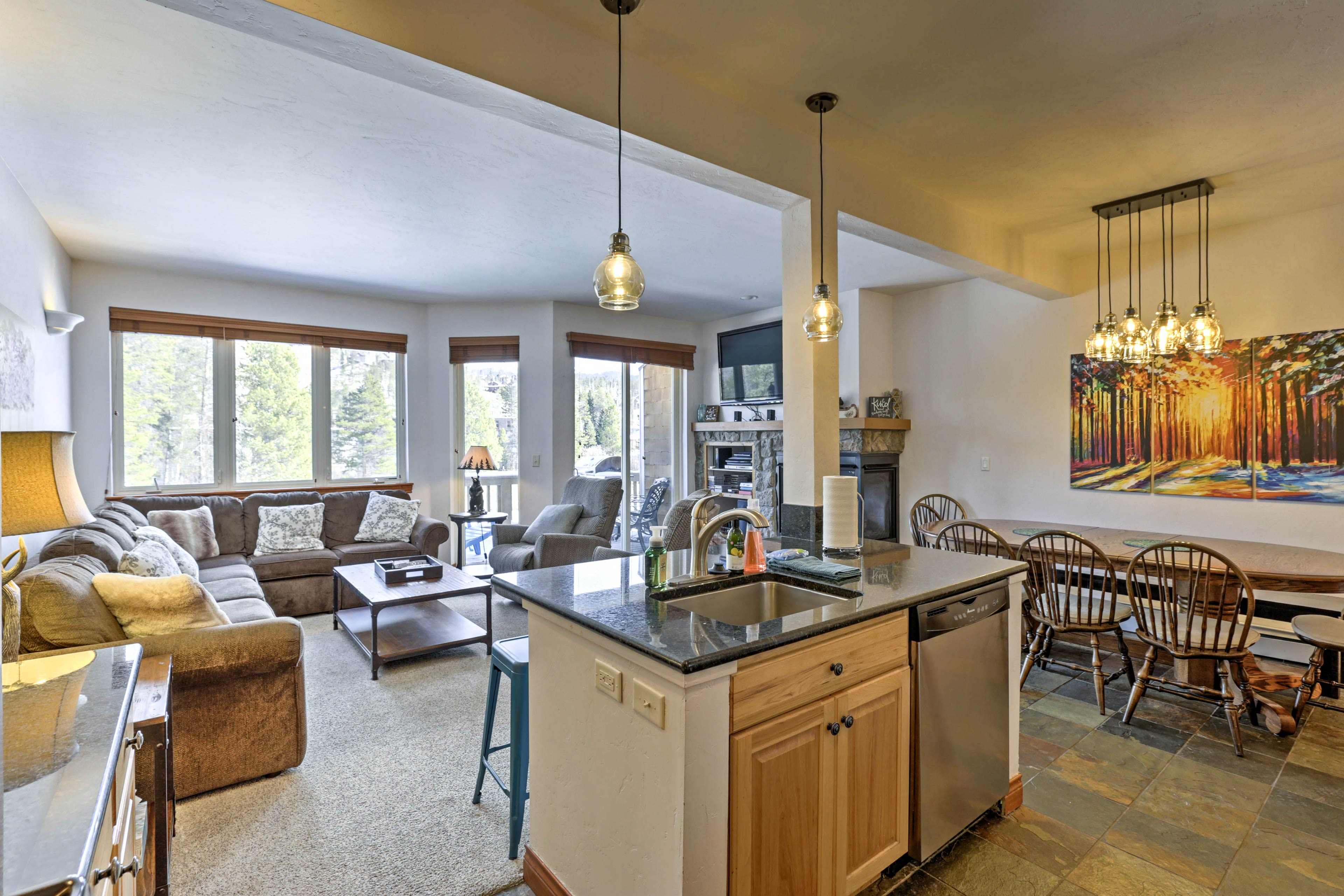 Fall in love with Winter Park at this 4-bedroom, 3-bath vacation rental condo.