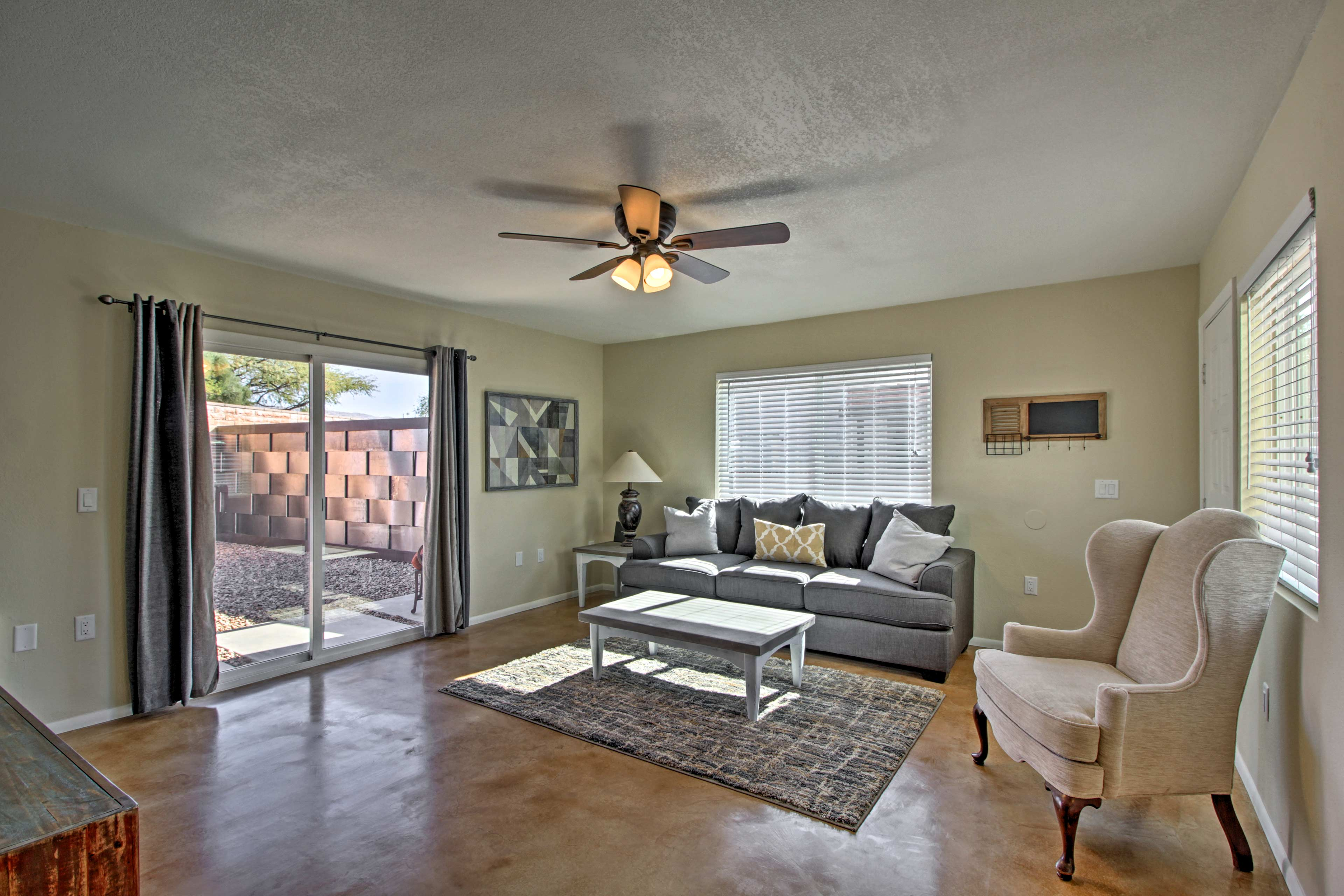 Rest easy inside nearly 1,000 square feet of newly renovated living space.