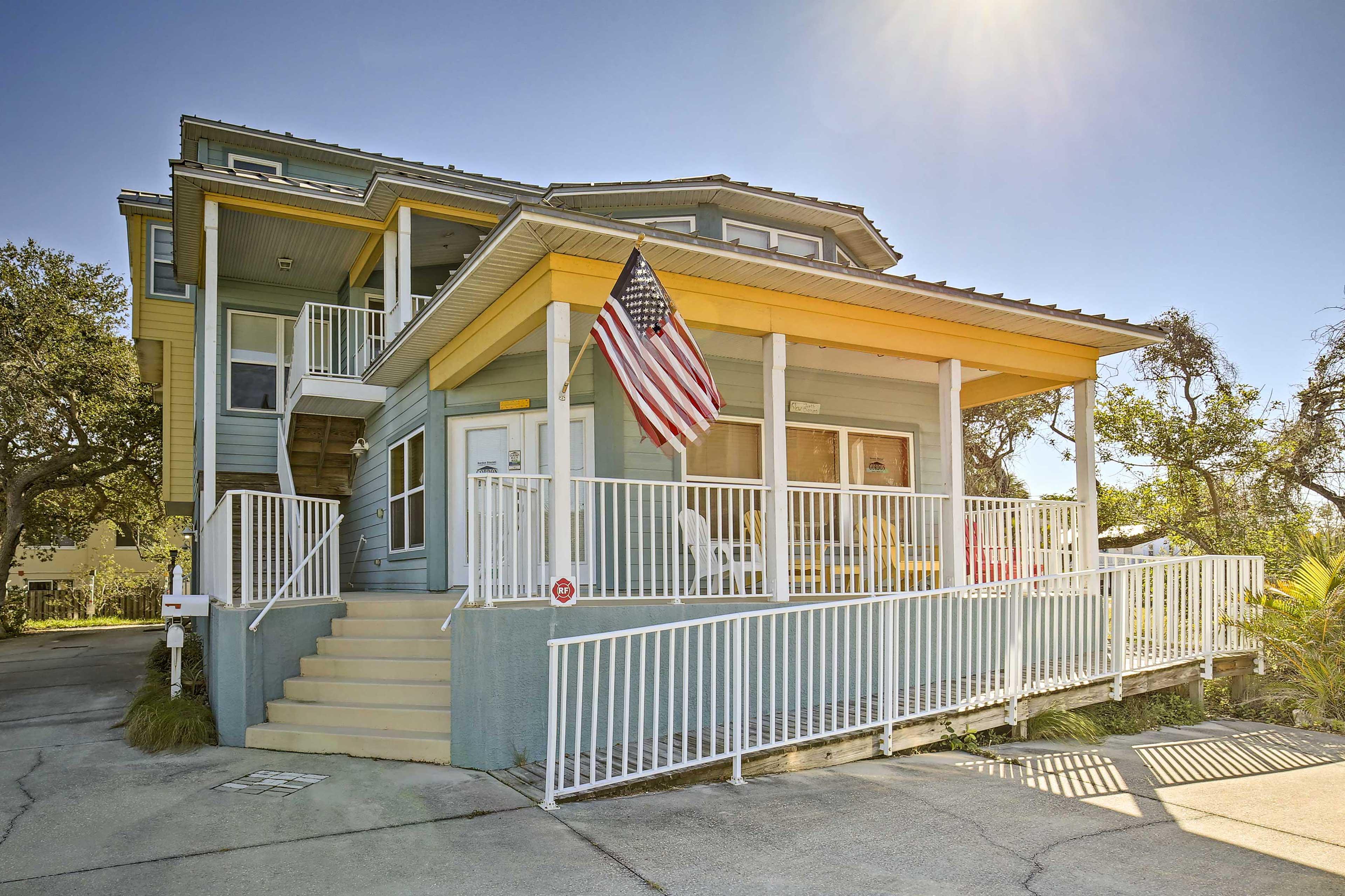 Unwind in this 2-bedroom, 2.5-bath vacation rental condo in Indian Rocks Beach.