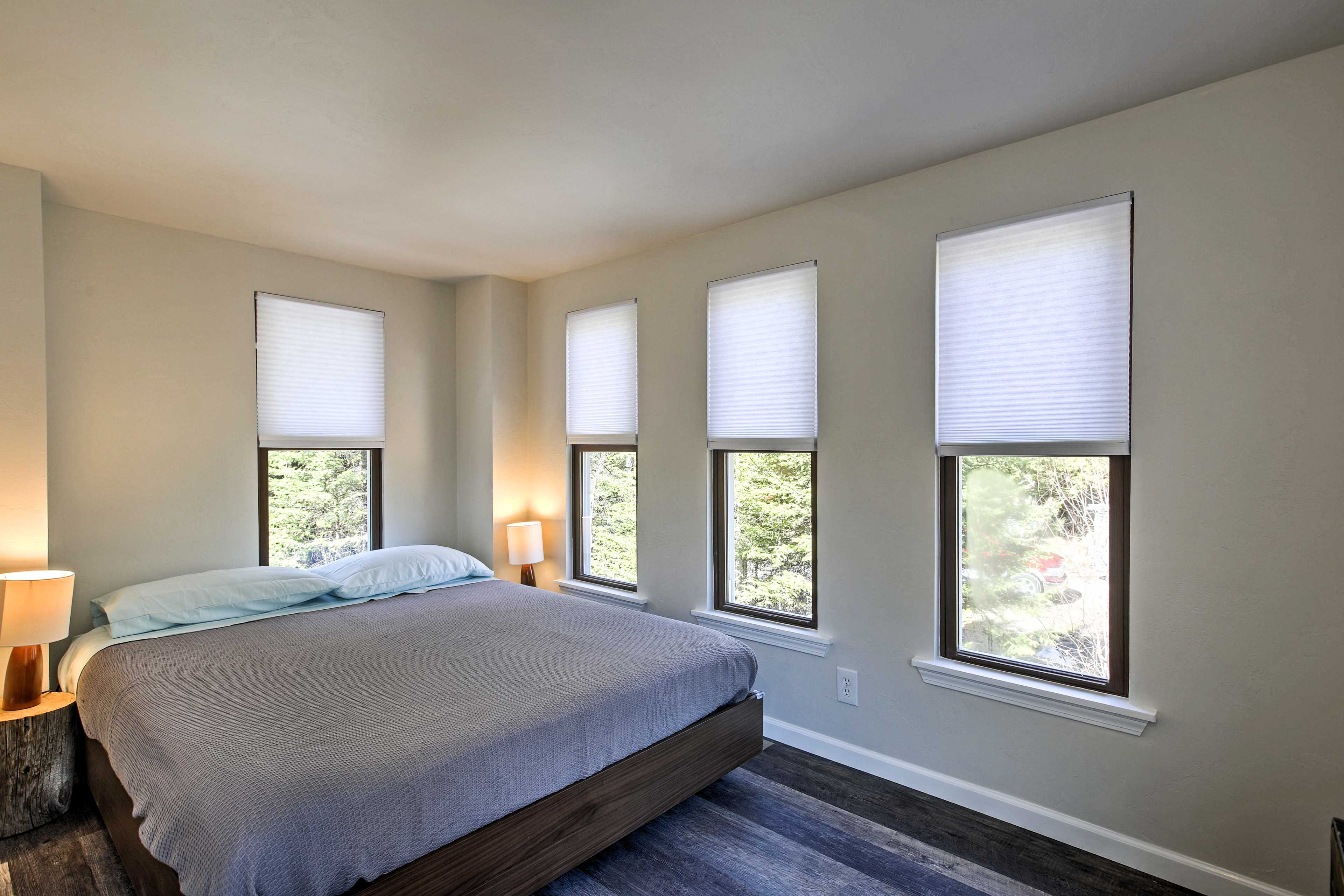 Both of the home's 2 bedrooms feature comfortable queen-sized beds.