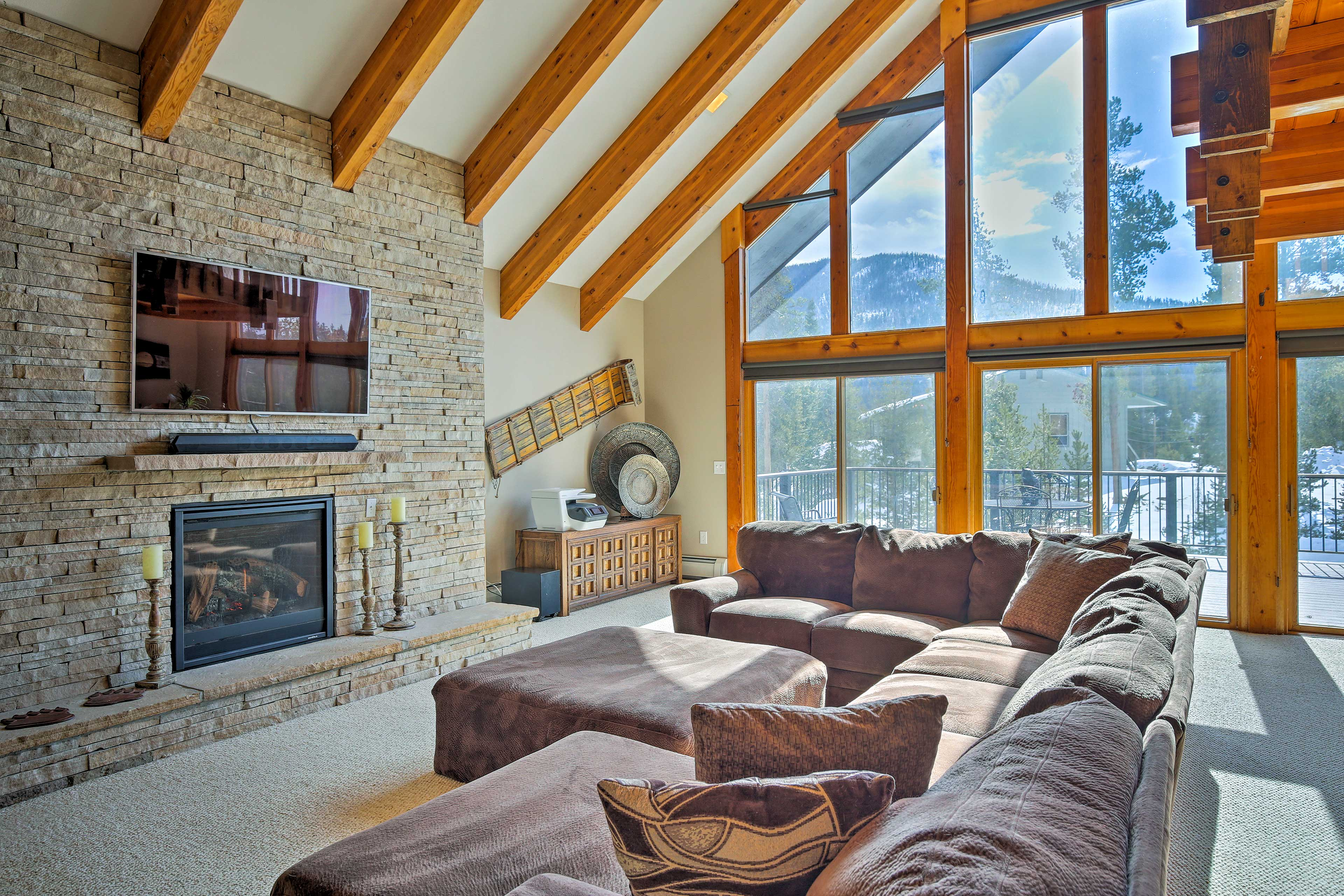 The property boasts 4 bedrooms, 4.5 baths and 4,700 square feet of living space.