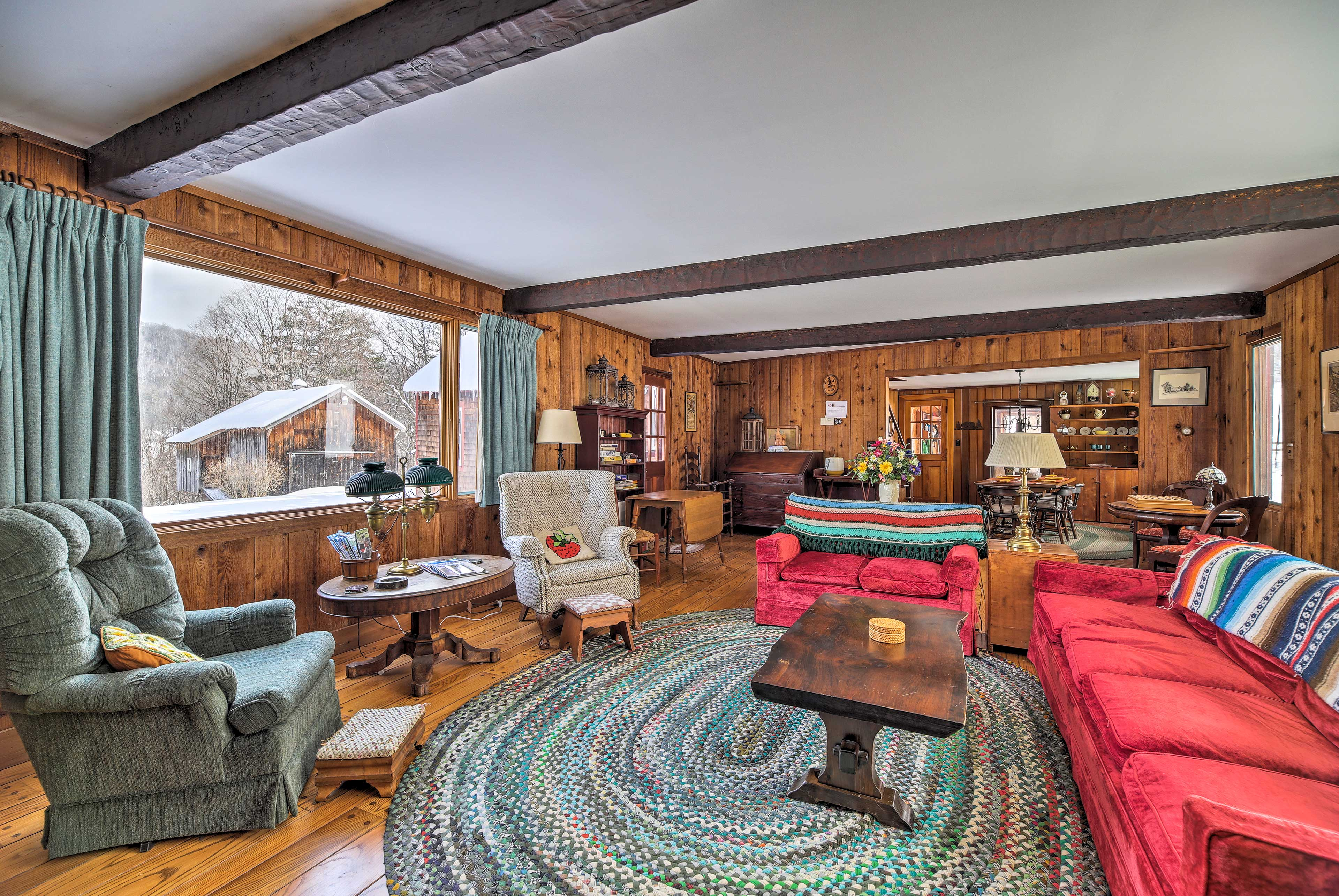 Built in 1802, this home boasts lots of its classic charm.