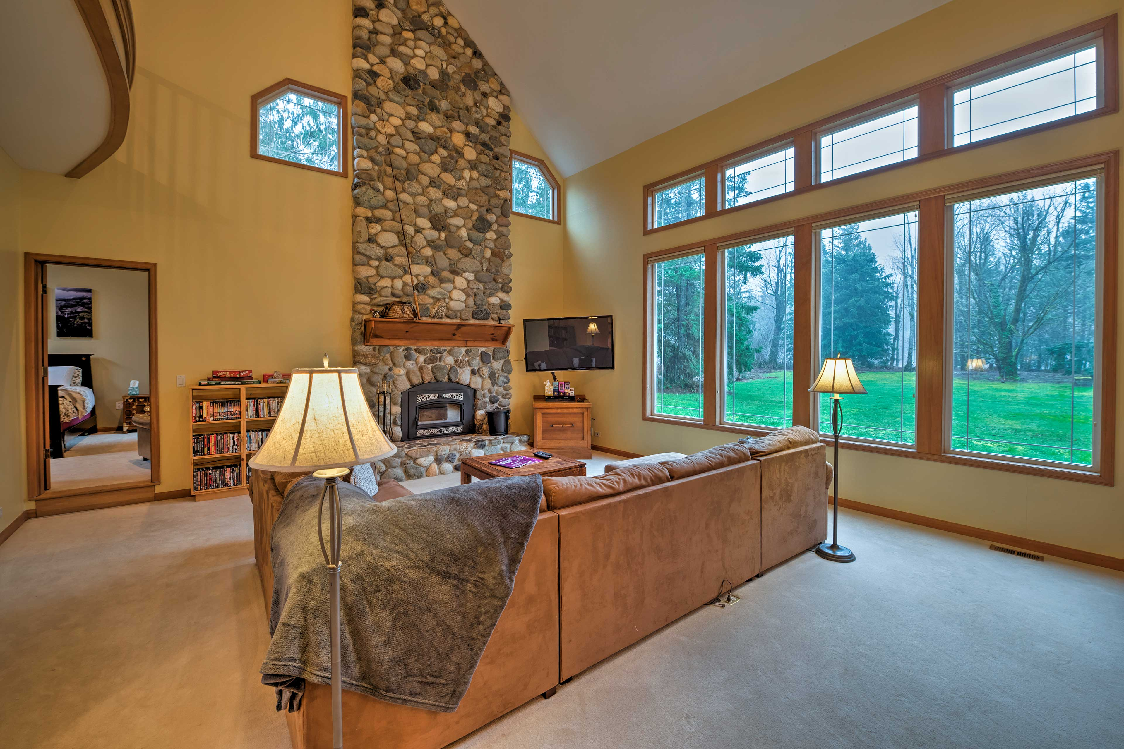 The 2,750-square-foot-home is the perfect combination of luxury and comfortable.