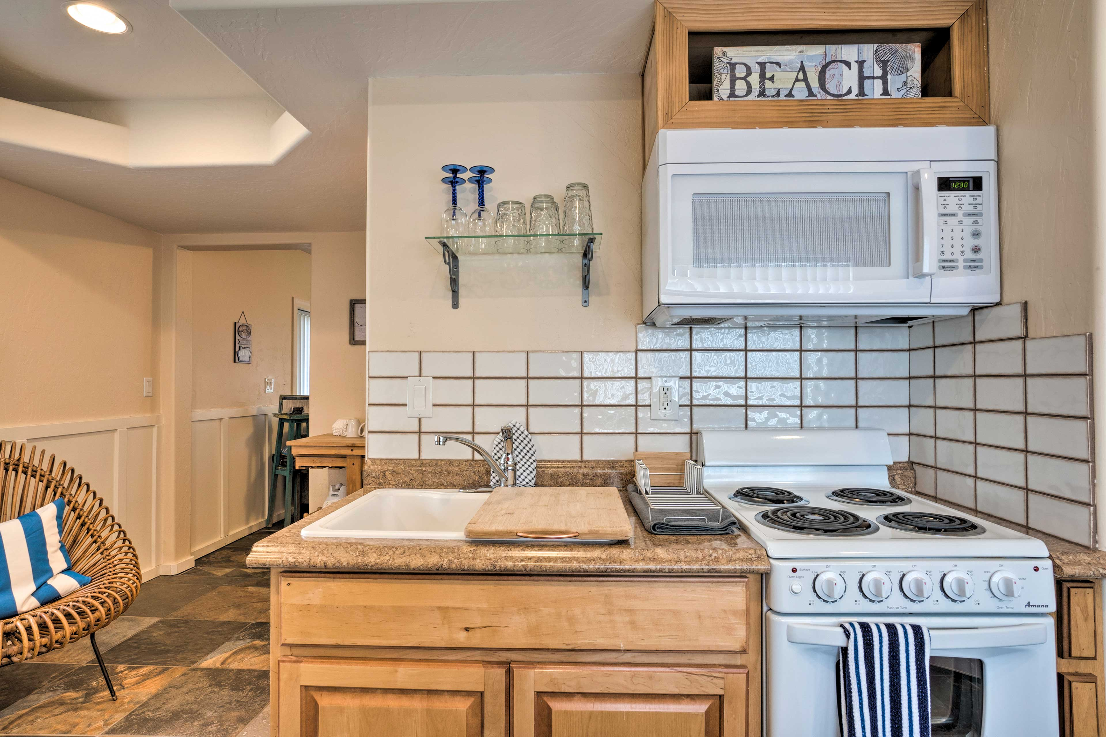 This apartment is perfect for couples or the solo traveler!