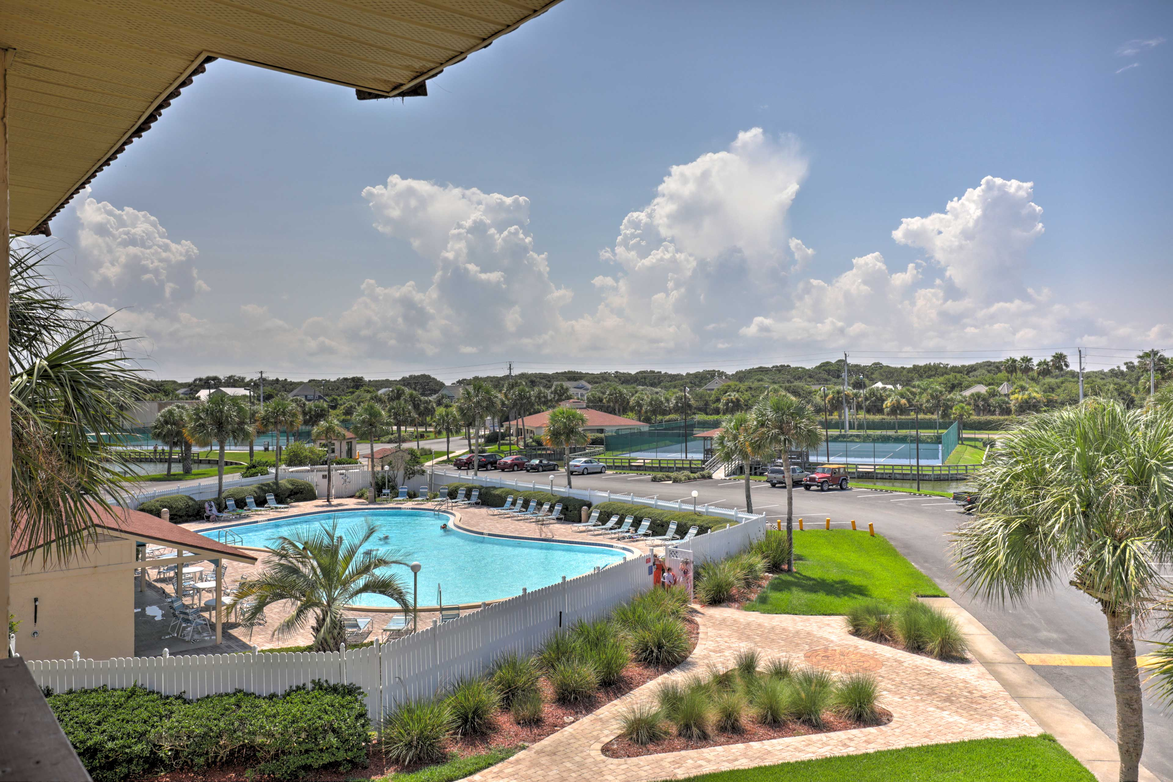 Take a look out on the upscale community amenities.