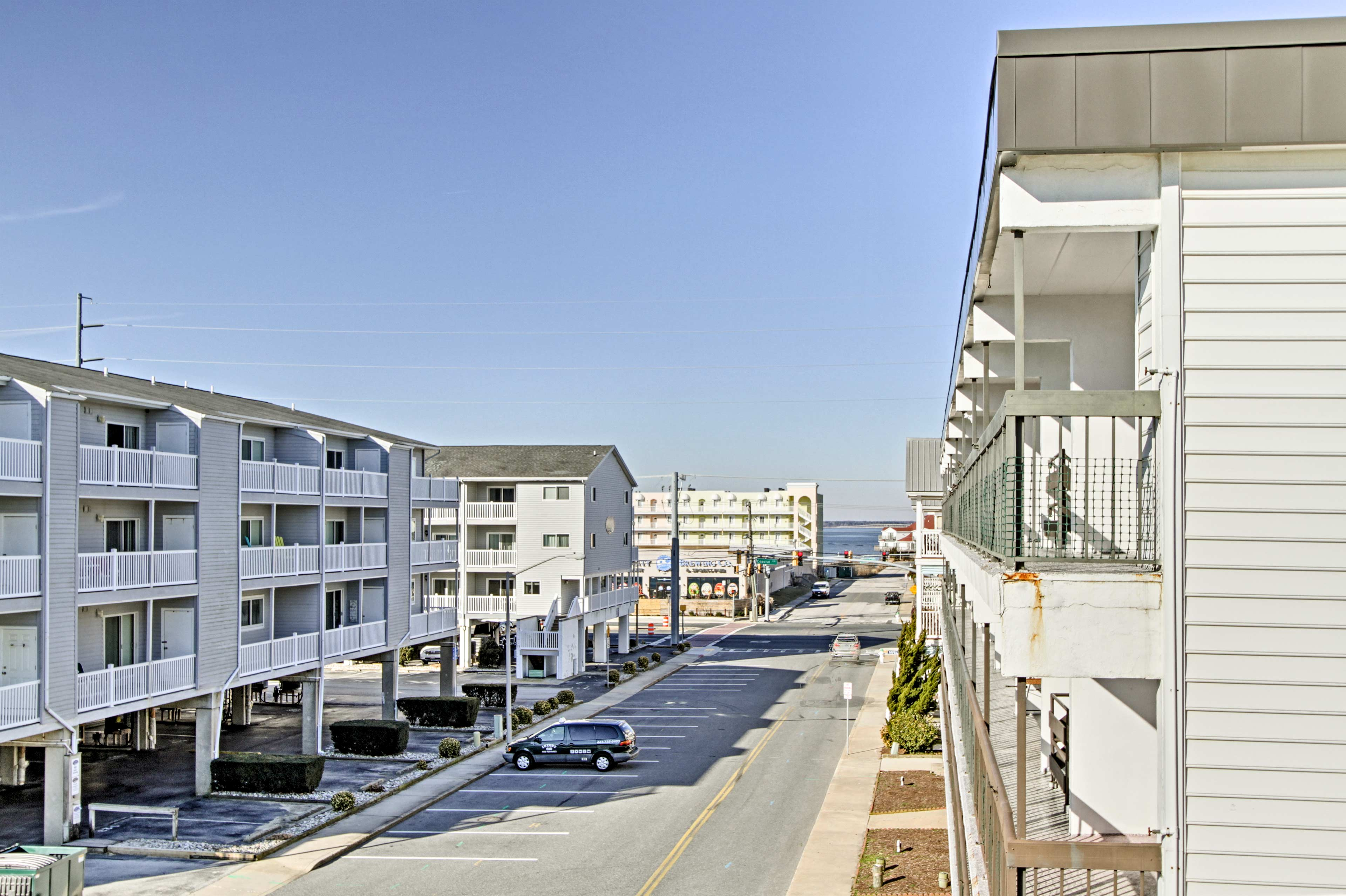 The condo is near everything you could want to do in Ocean City.