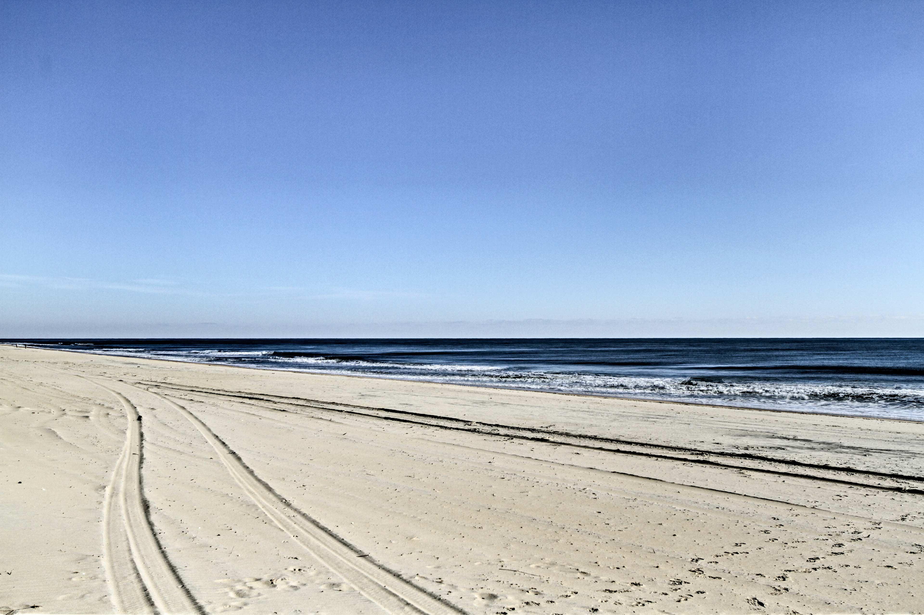 White sandy beaches await!
