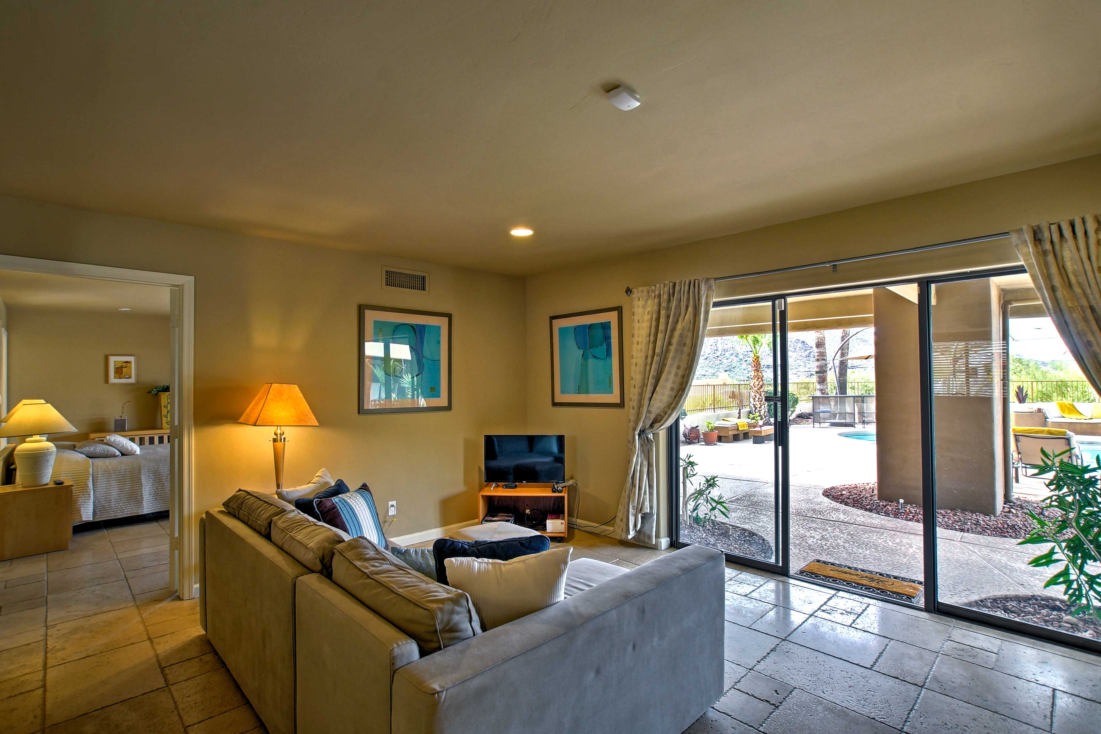 This cozy space is sure to be a frequented gathering area.