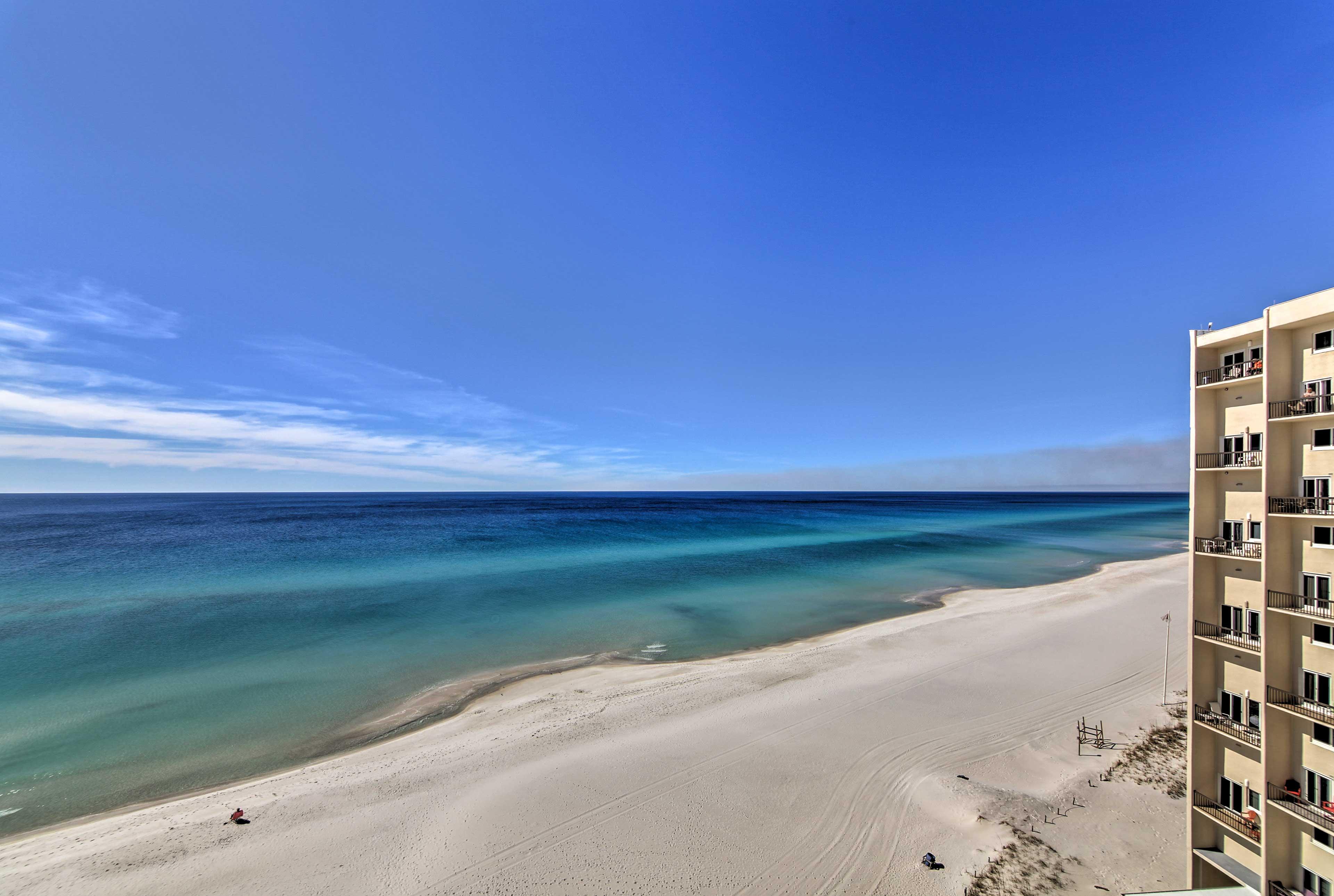 Retreat to Panama City Beach at this vacation rental condo!