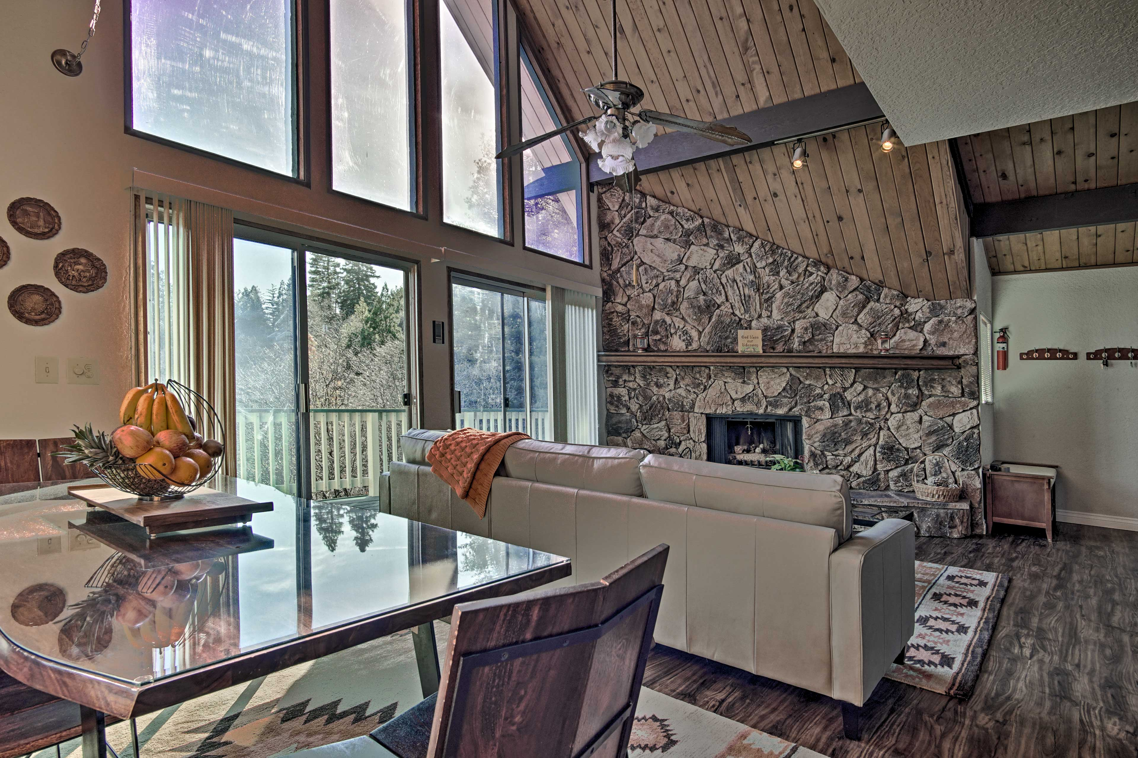 Natural light illuminates the interior.